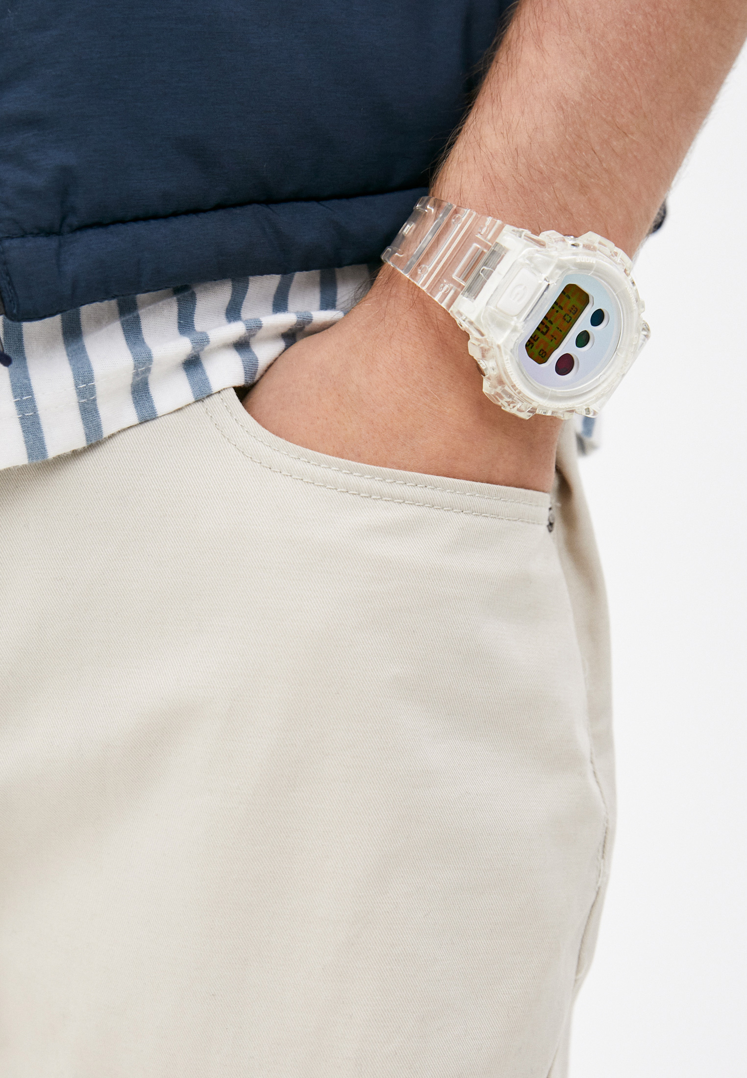Мужские часы Casio DW-6900SP-7ER: изображение 4