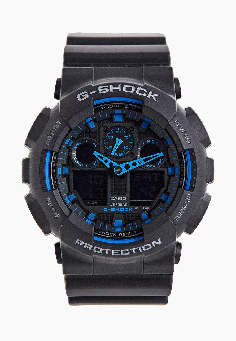 Мужские часы Casio GA-100-1A2: изображение 1