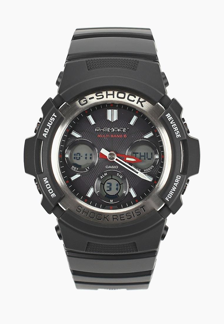 Мужские часы Casio AWG-M100-1A: изображение 3