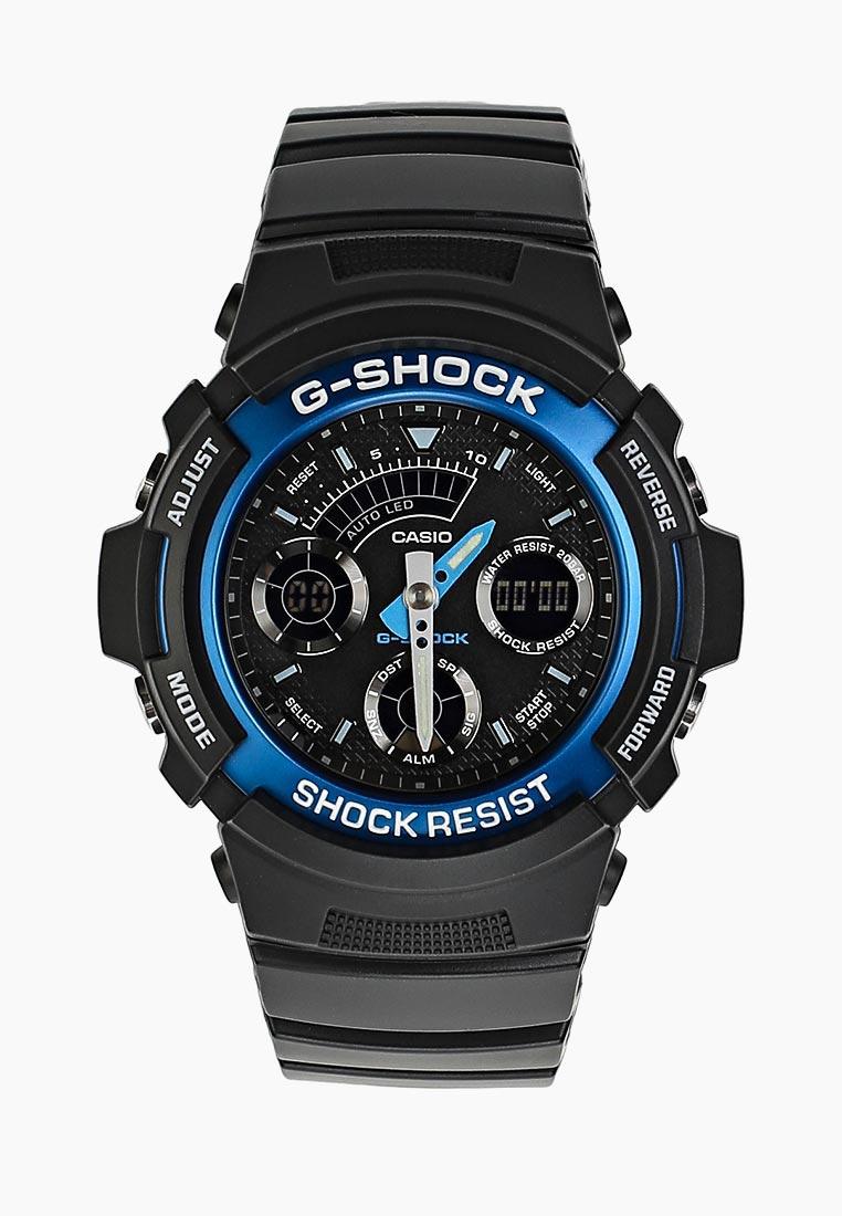Мужские часы Casio AW-591-2A: изображение 3