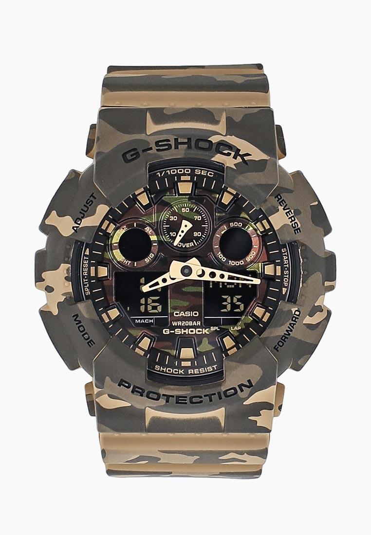 Часы Casio GA-100CM-5A: изображение 1