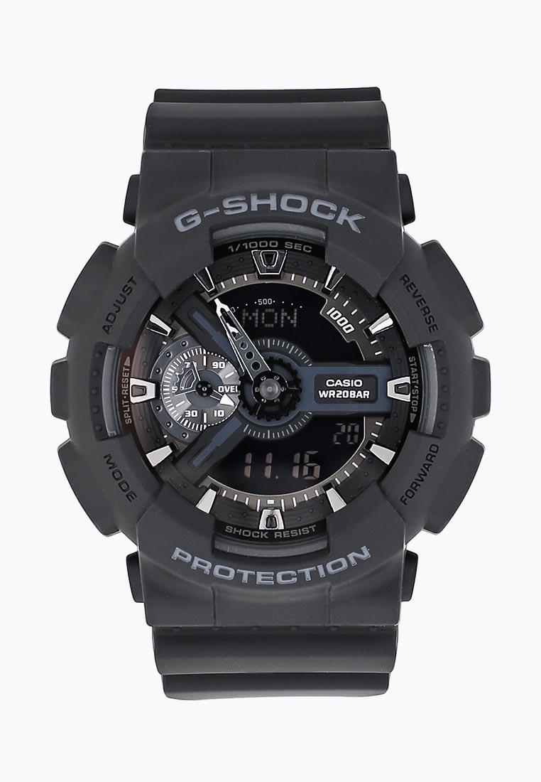 Мужские часы Casio GA-110-1B: изображение 7