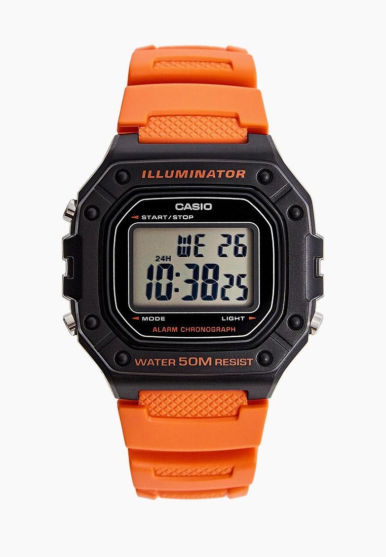 Мужские часы Casio W-218H-4B2