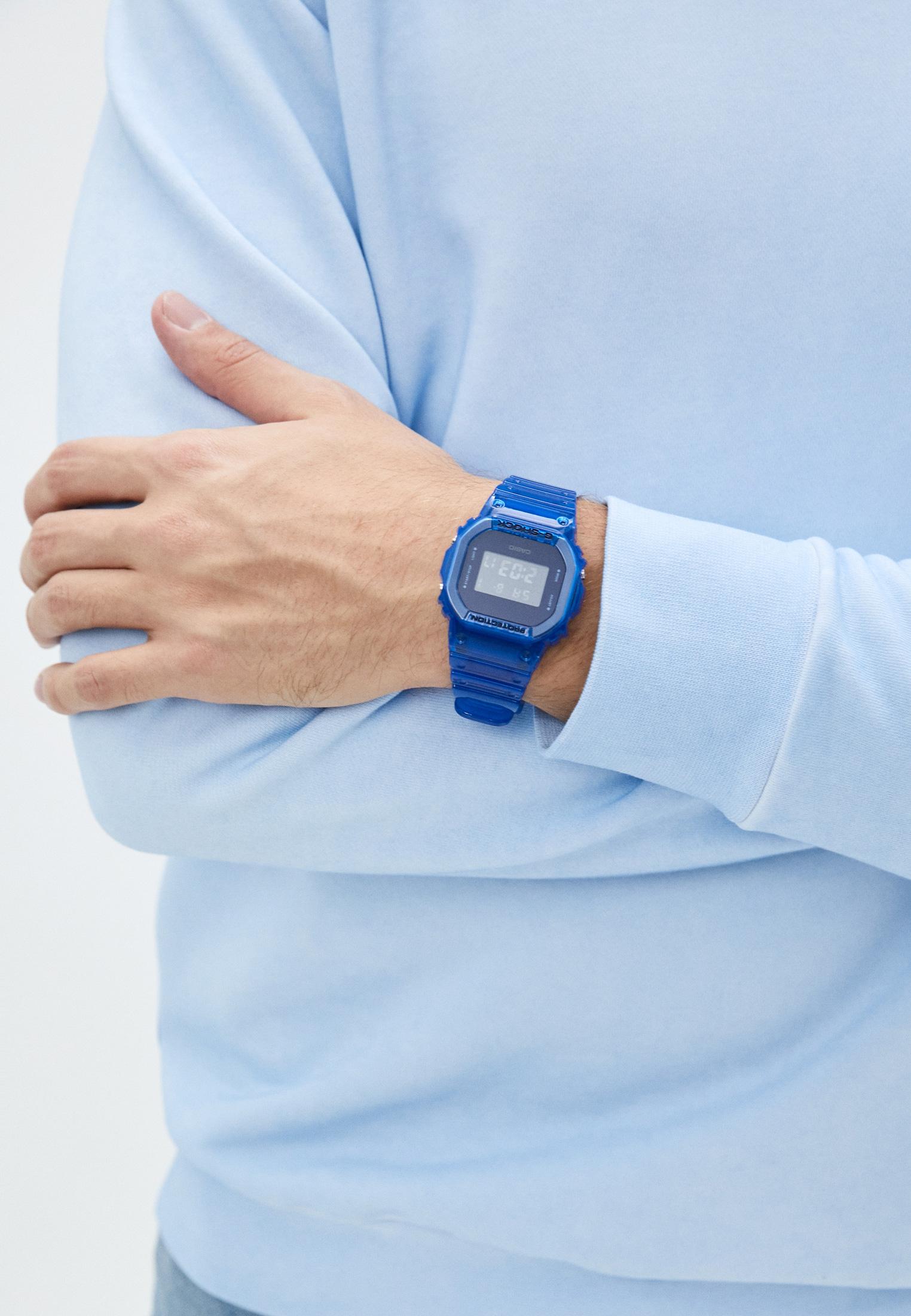 Мужские часы Casio DW-5600SB-2ER: изображение 5
