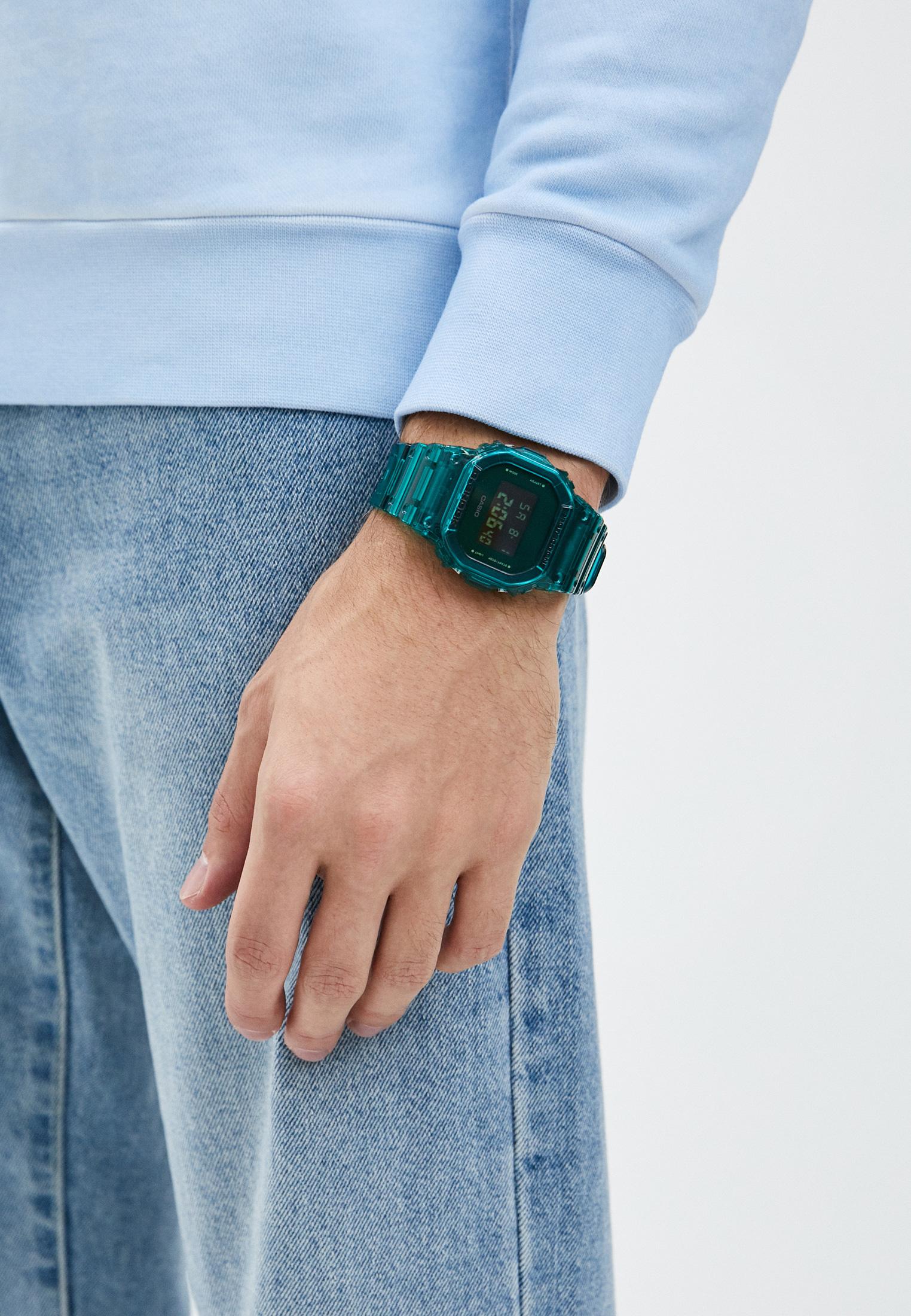 Мужские часы Casio DW-5600SB-3ER: изображение 5