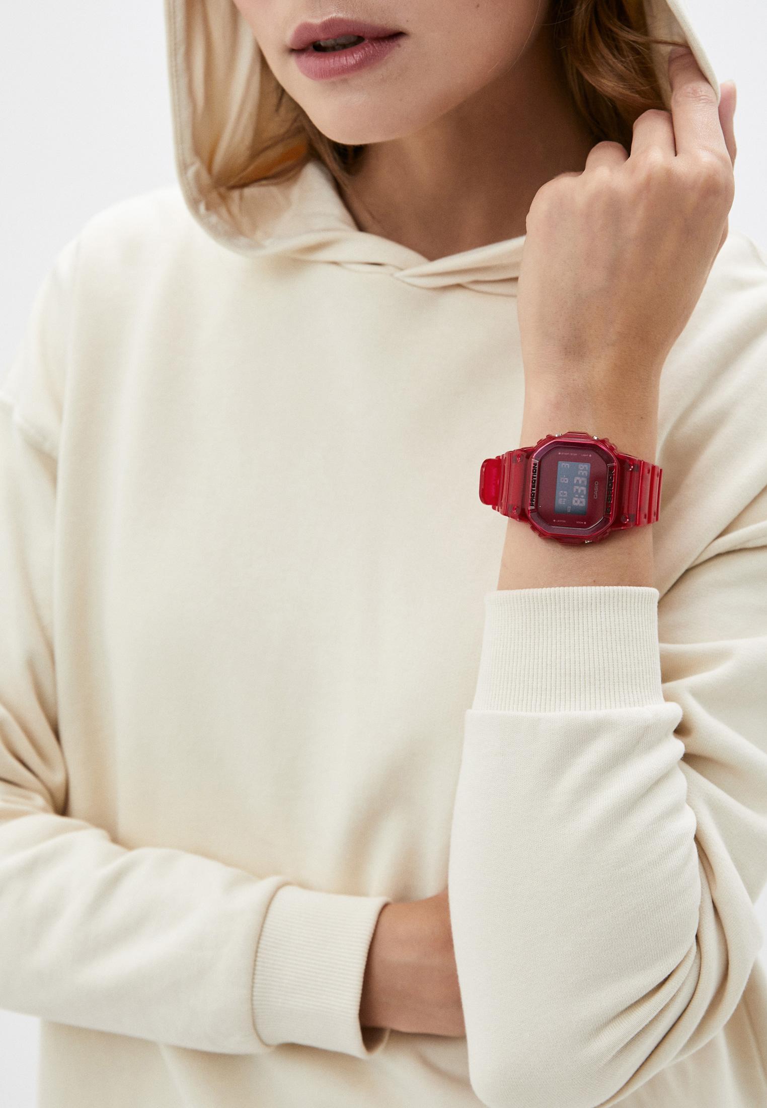 Мужские часы Casio DW-5600SB-4ER: изображение 6