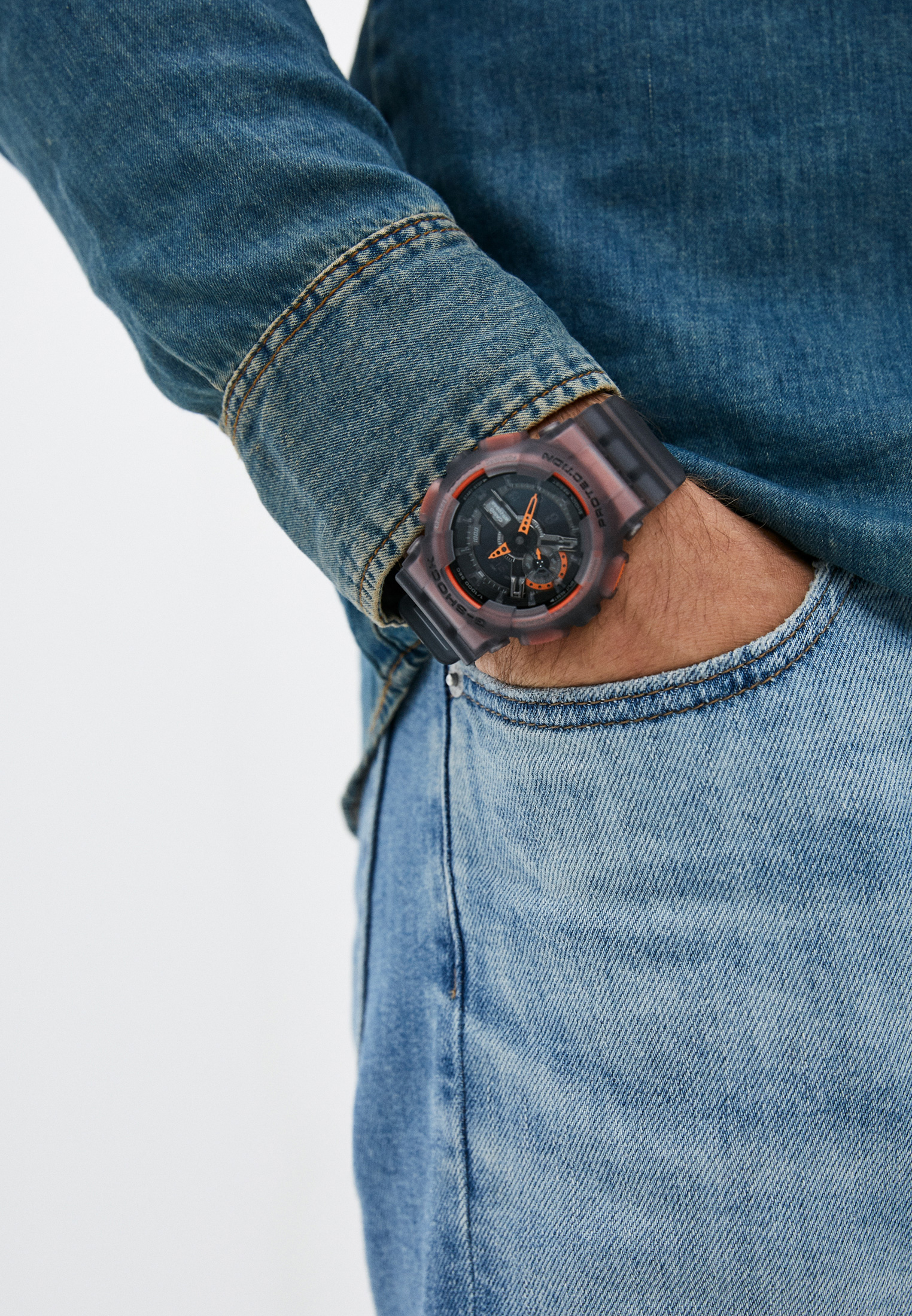 Мужские часы Casio GA-110LS-1AER: изображение 5