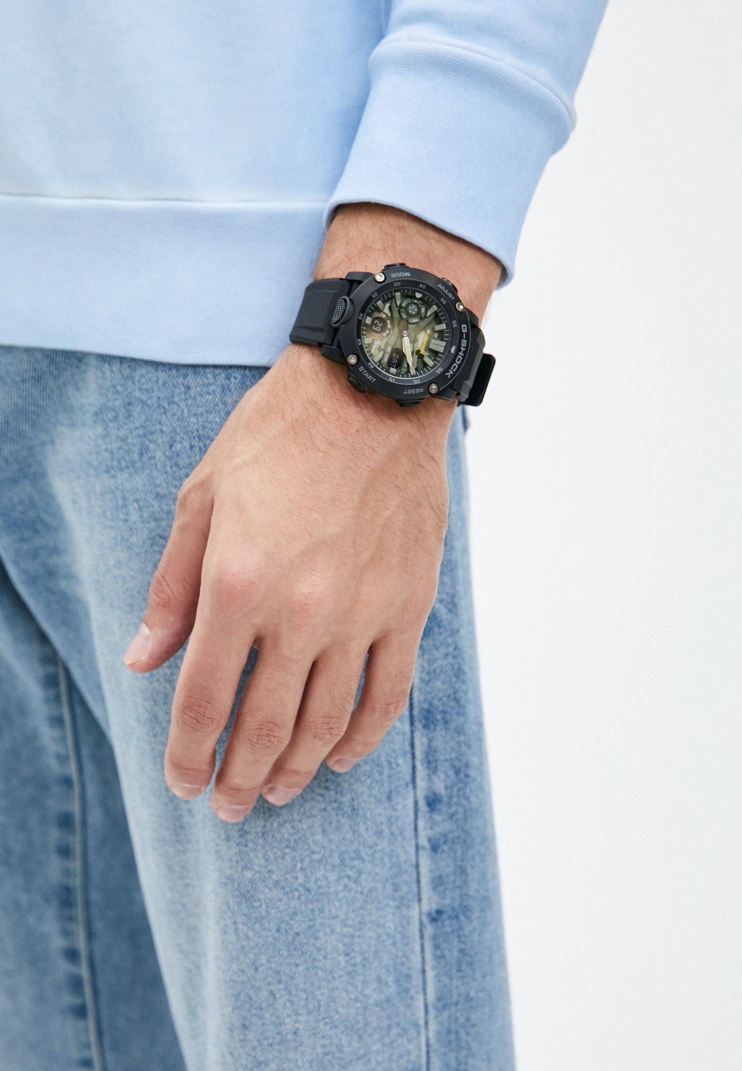 Мужские часы Casio GA-2000SU-1AER: изображение 5