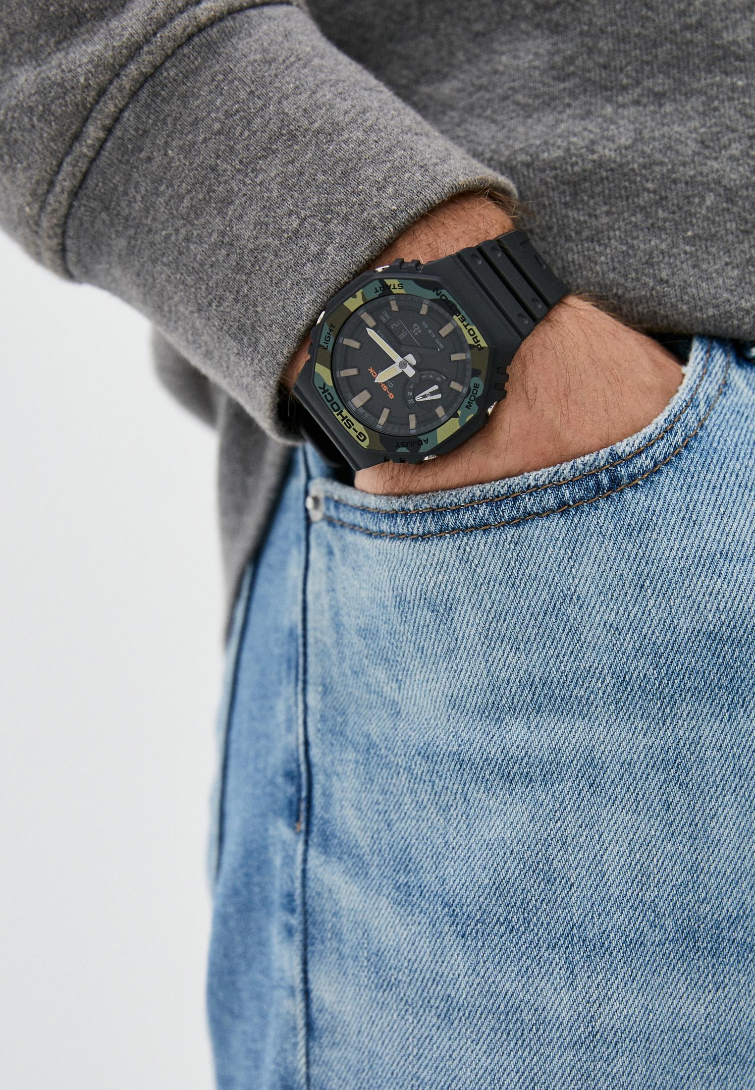 Мужские часы Casio GA-2100SU-1AER: изображение 5
