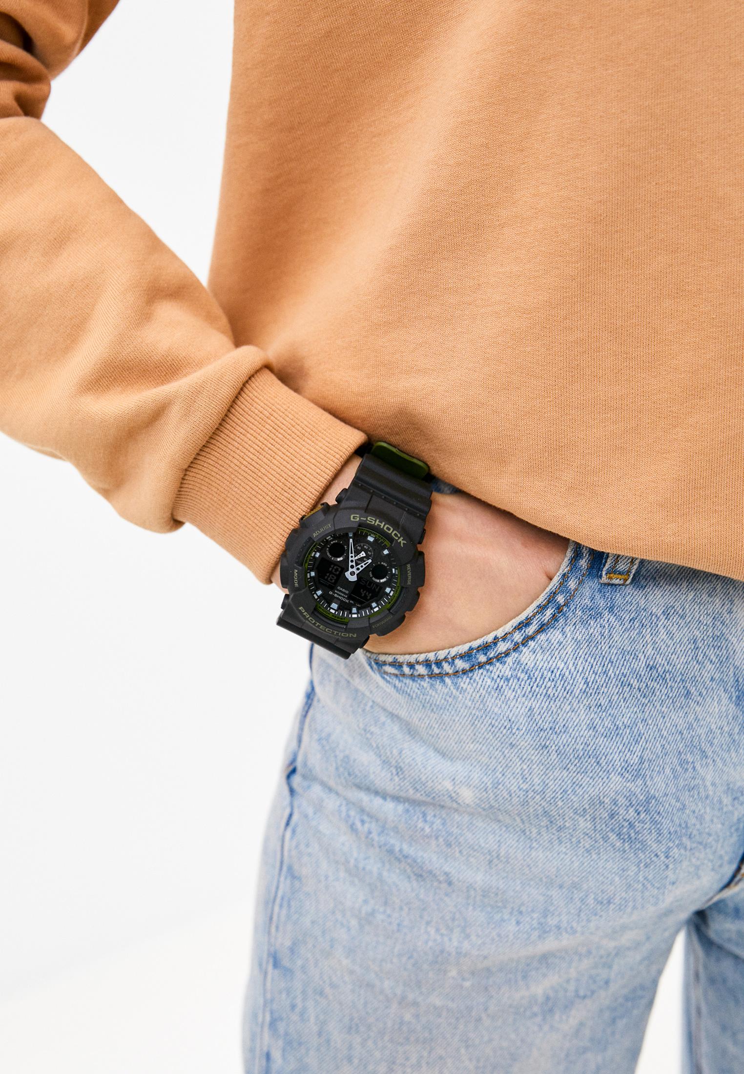 Мужские часы Casio GA-100L-1A: изображение 5