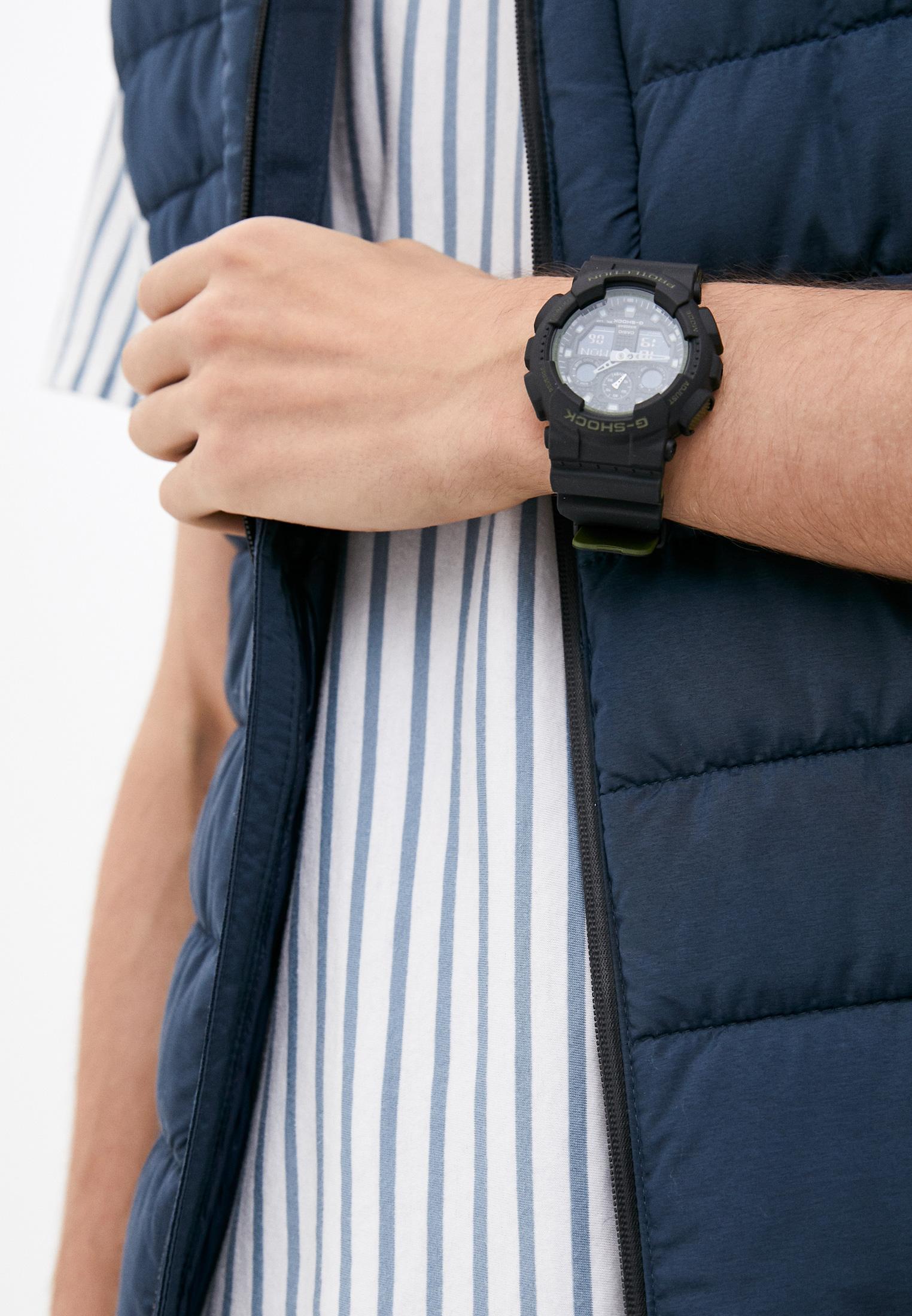 Мужские часы Casio GA-100L-1A: изображение 6