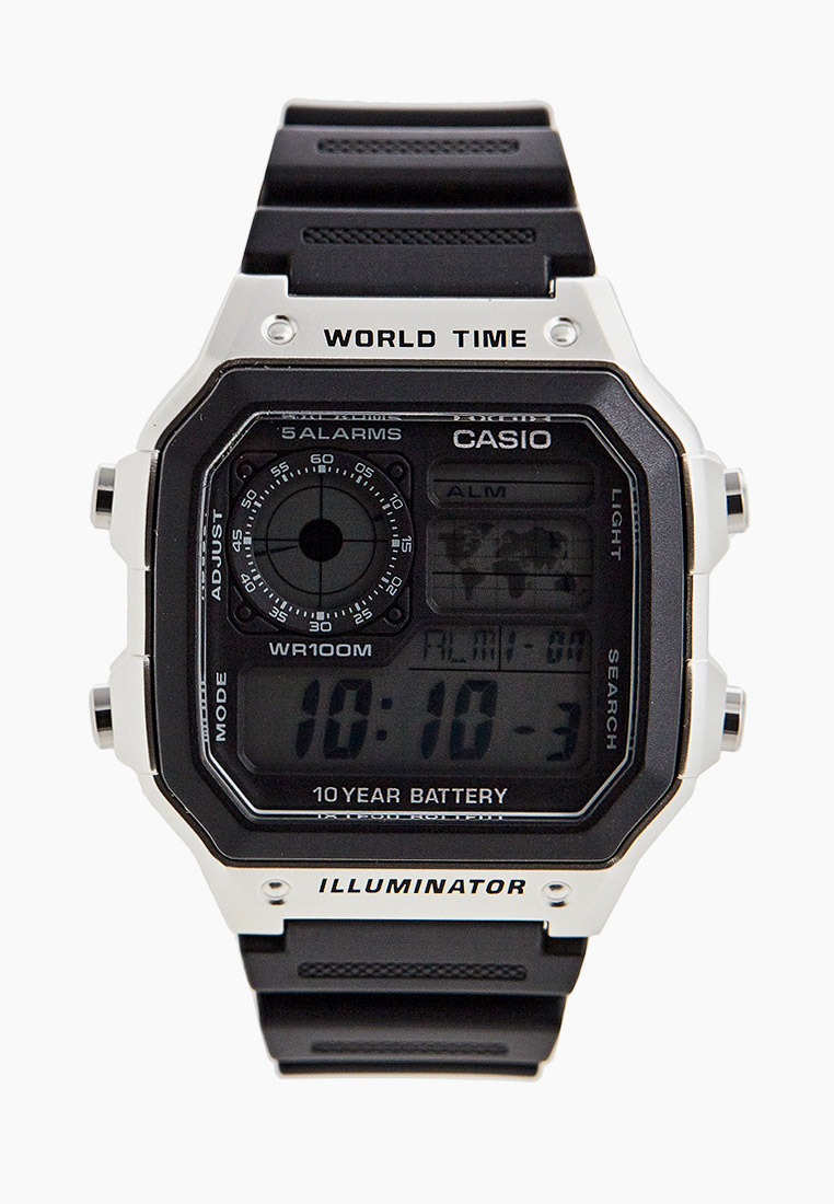 Мужские часы Casio AE-1200WH-1CVEF