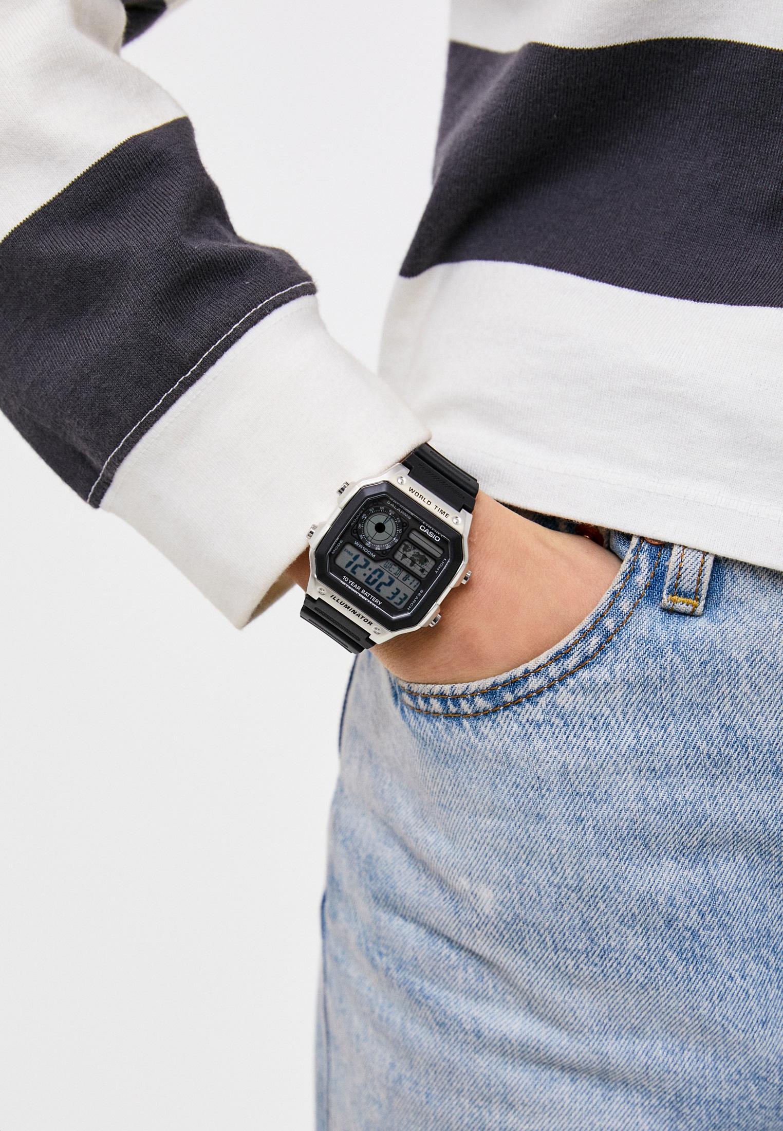 Мужские часы Casio AE-1200WH-1CVEF: изображение 4