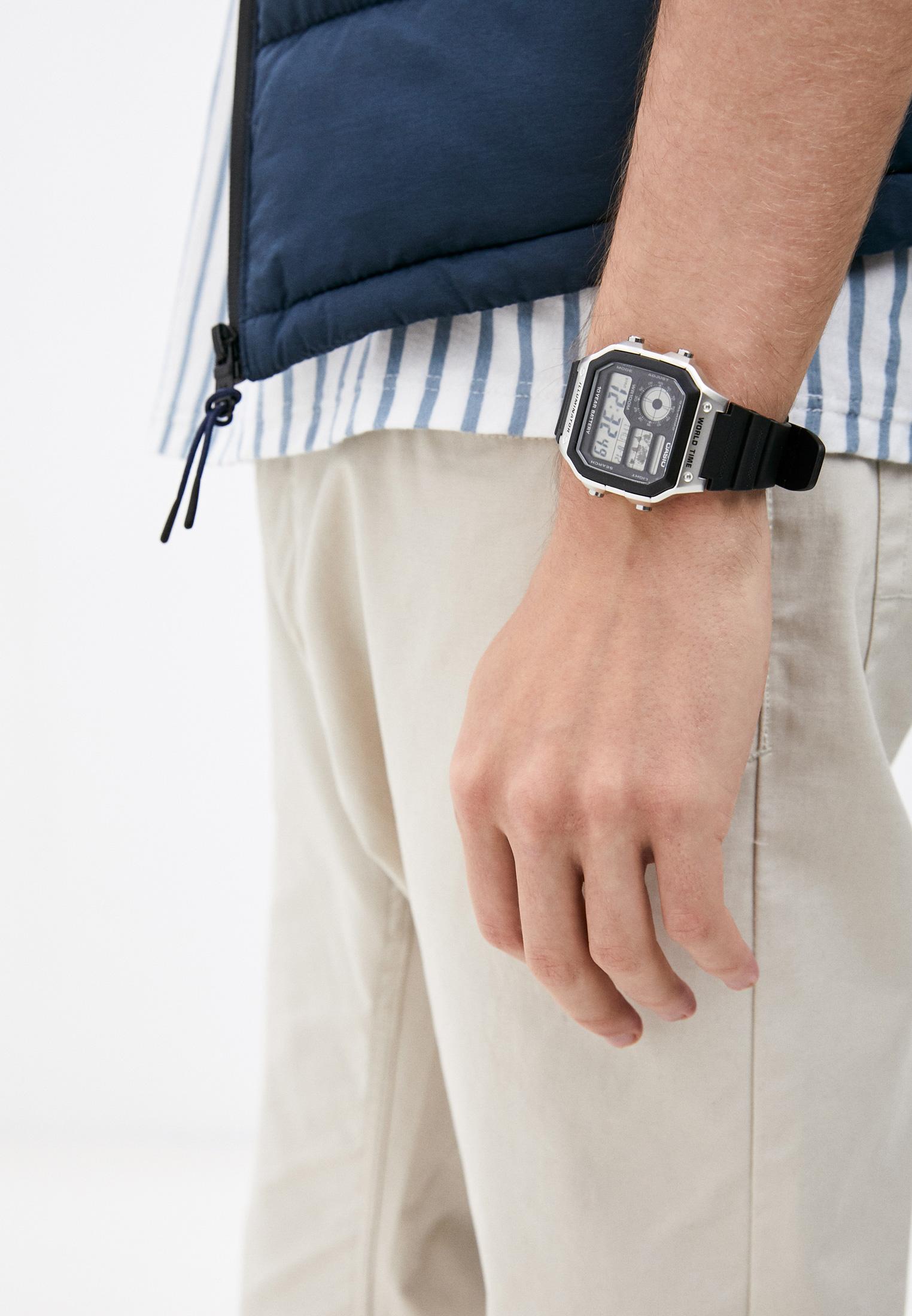 Мужские часы Casio AE-1200WH-1CVEF: изображение 5