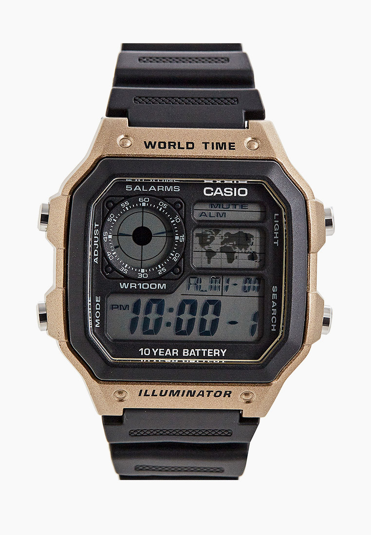Мужские часы Casio AE-1200WH-5AVEF