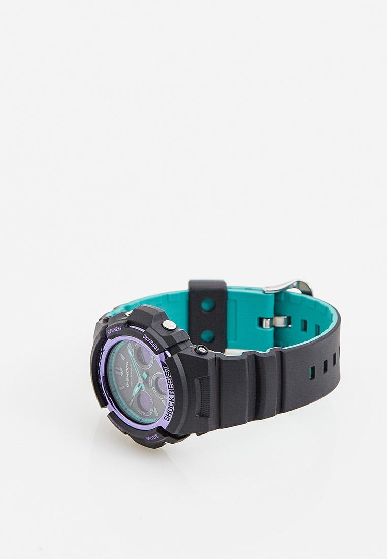 Мужские часы Casio AWG-M100SBL-1AER: изображение 3