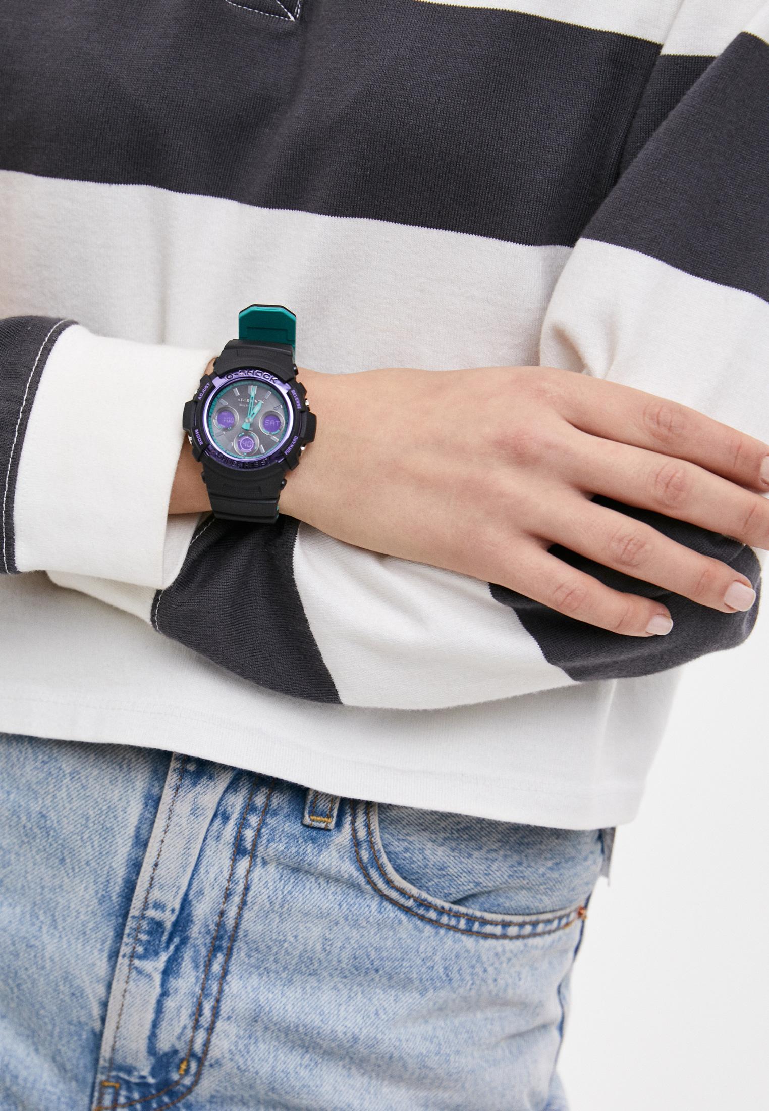 Мужские часы Casio AWG-M100SBL-1AER: изображение 5