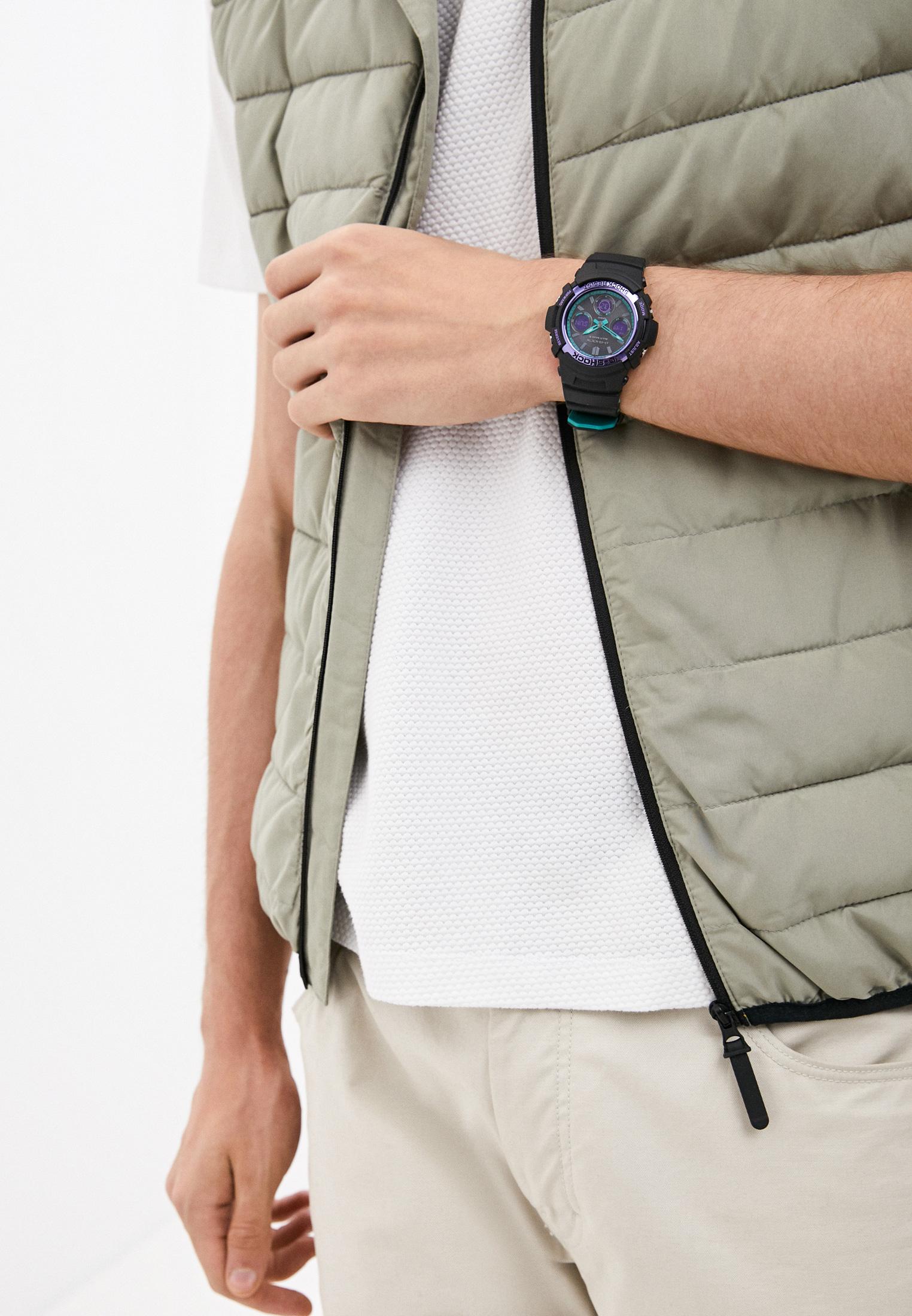 Мужские часы Casio AWG-M100SBL-1AER: изображение 6