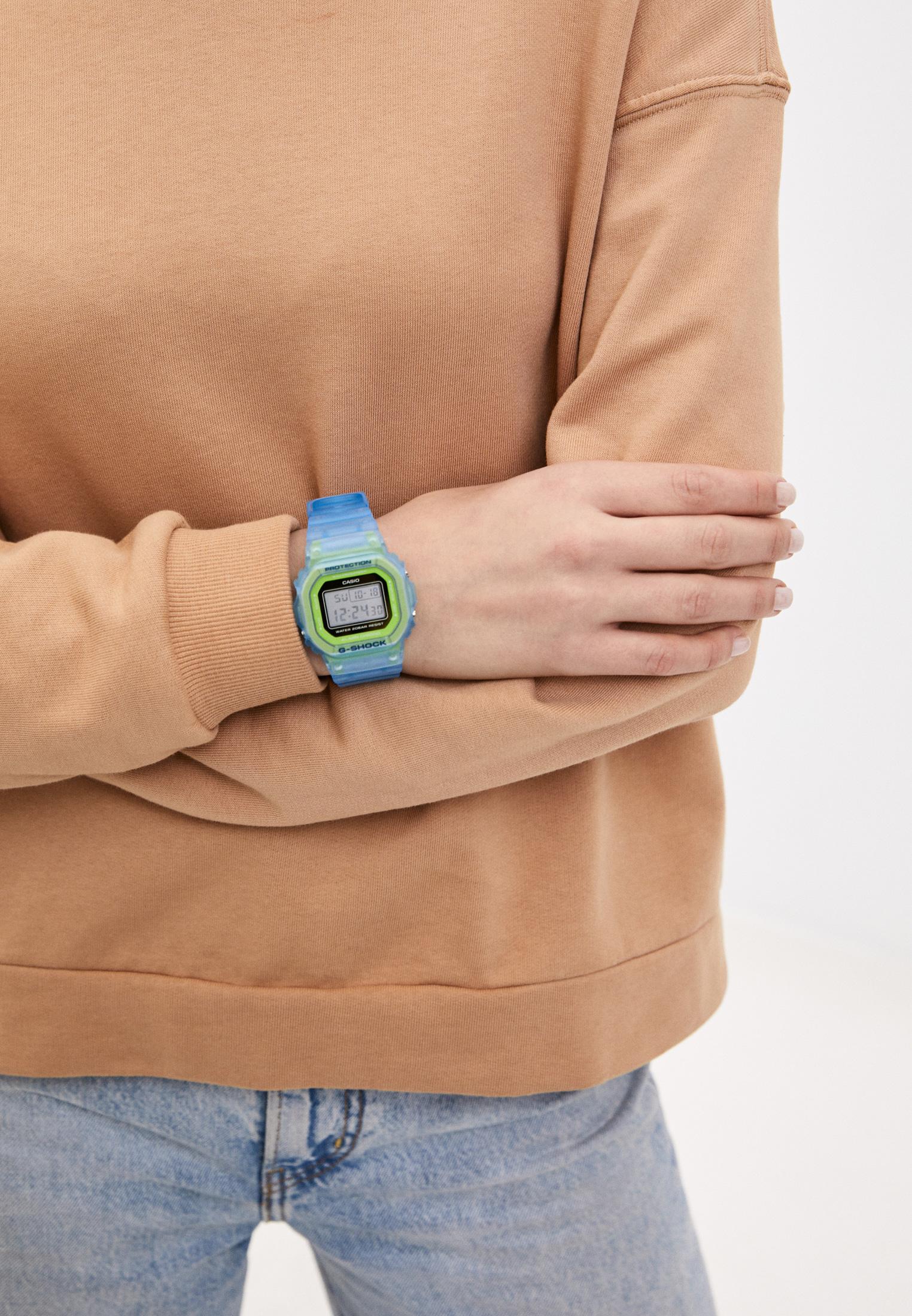Мужские часы Casio DW-5600LS-2ER: изображение 5