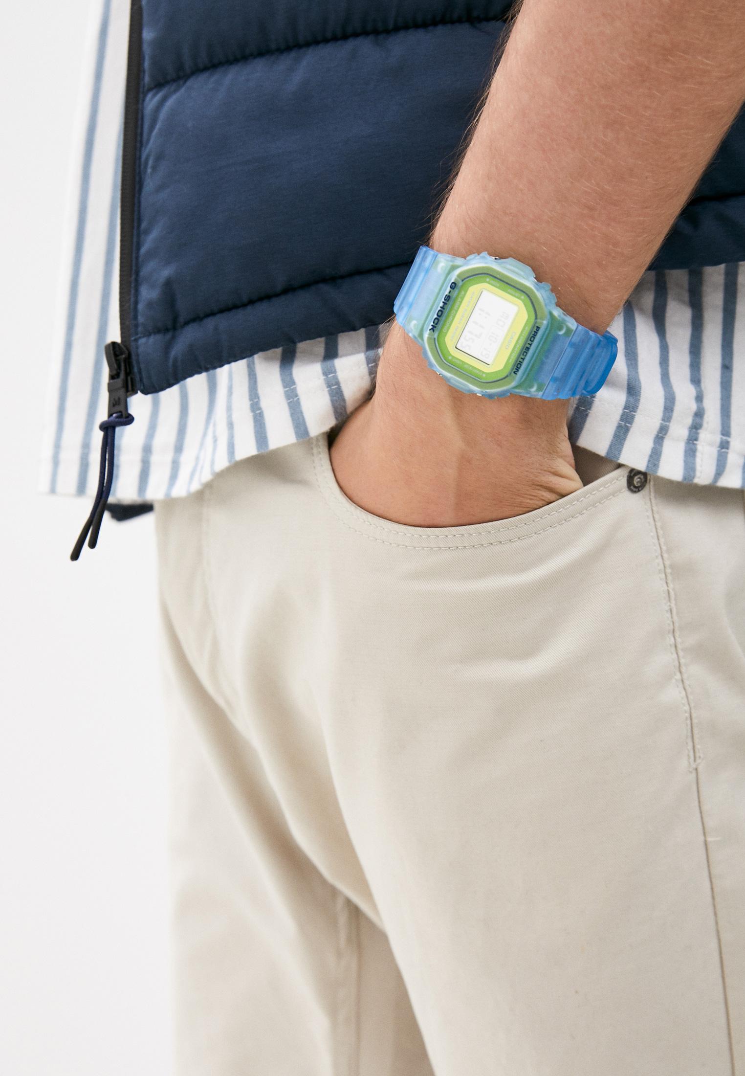 Мужские часы Casio DW-5600LS-2ER: изображение 6