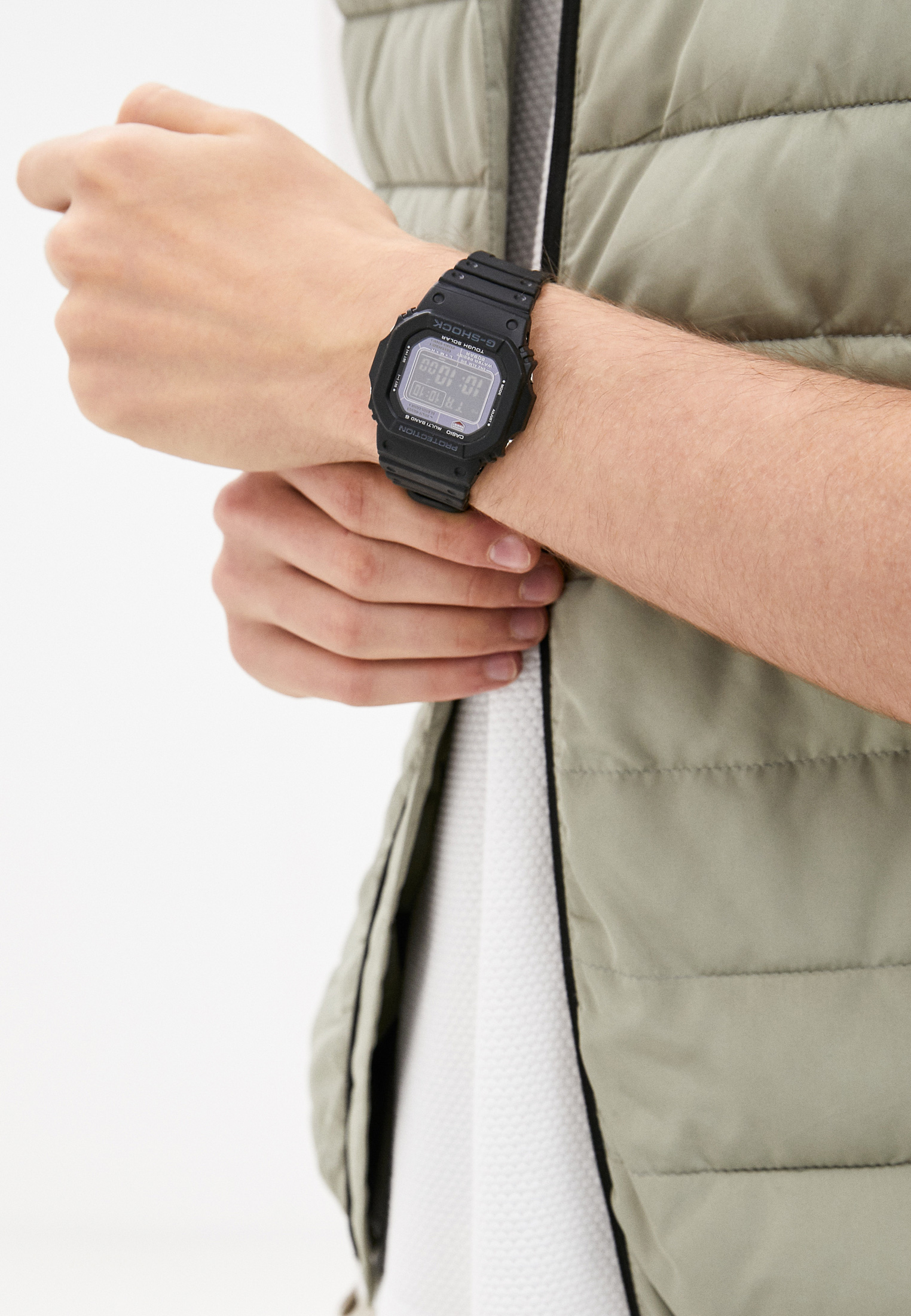 Мужские часы Casio GW-M5610-1BER: изображение 6
