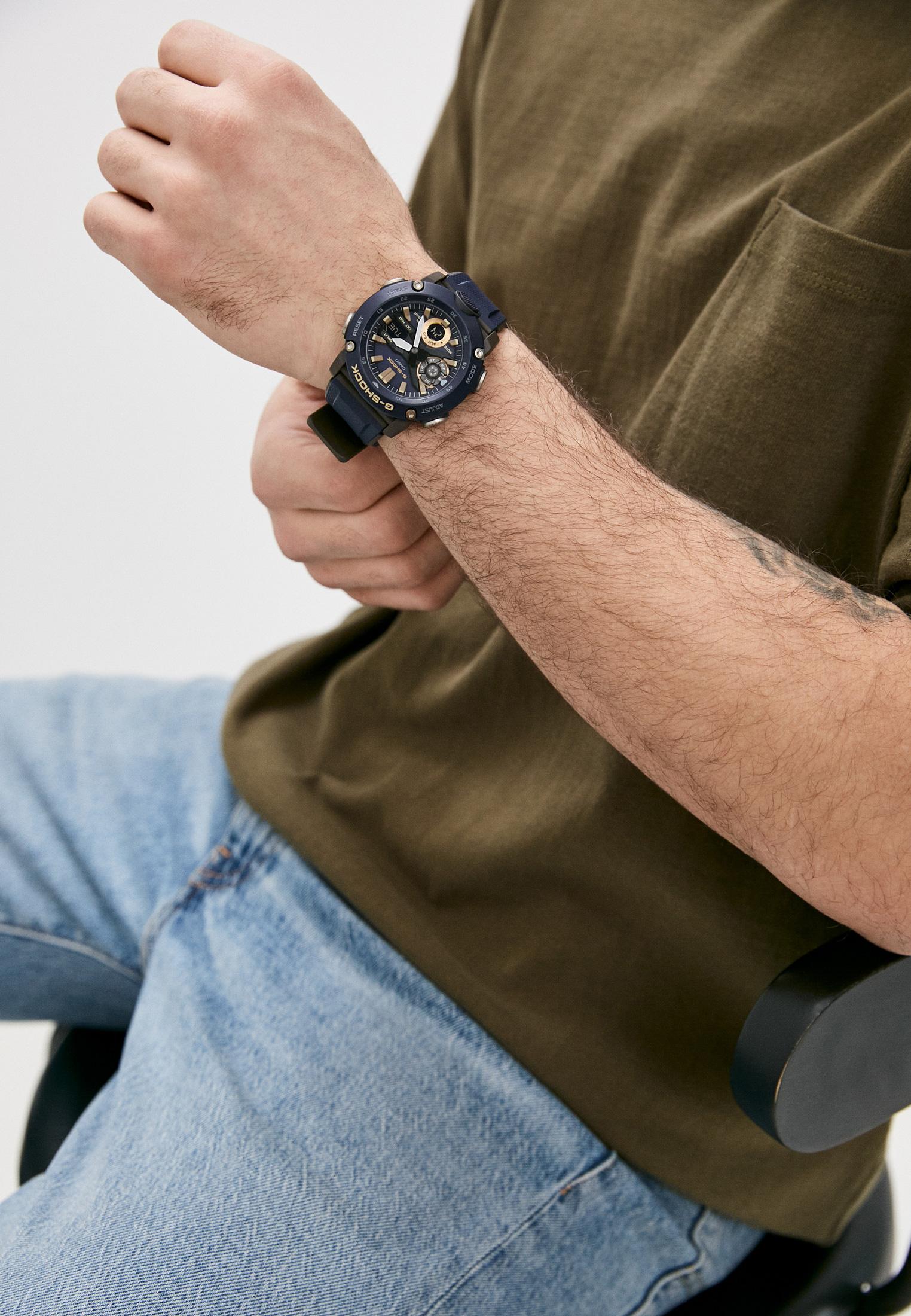 Мужские часы Casio GA-2000-2AER: изображение 6