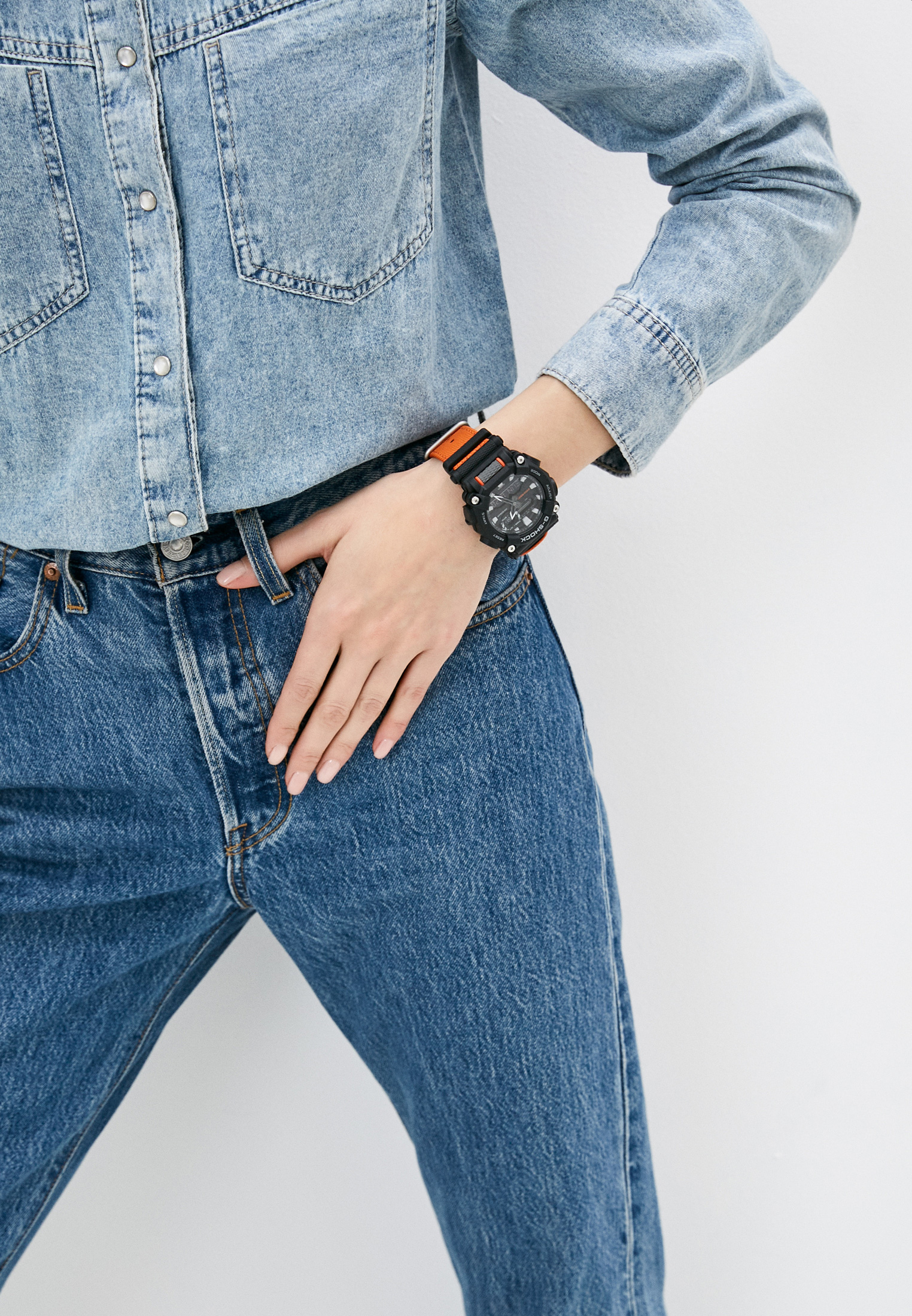 Мужские часы Casio GA-900C-1A4ER: изображение 5