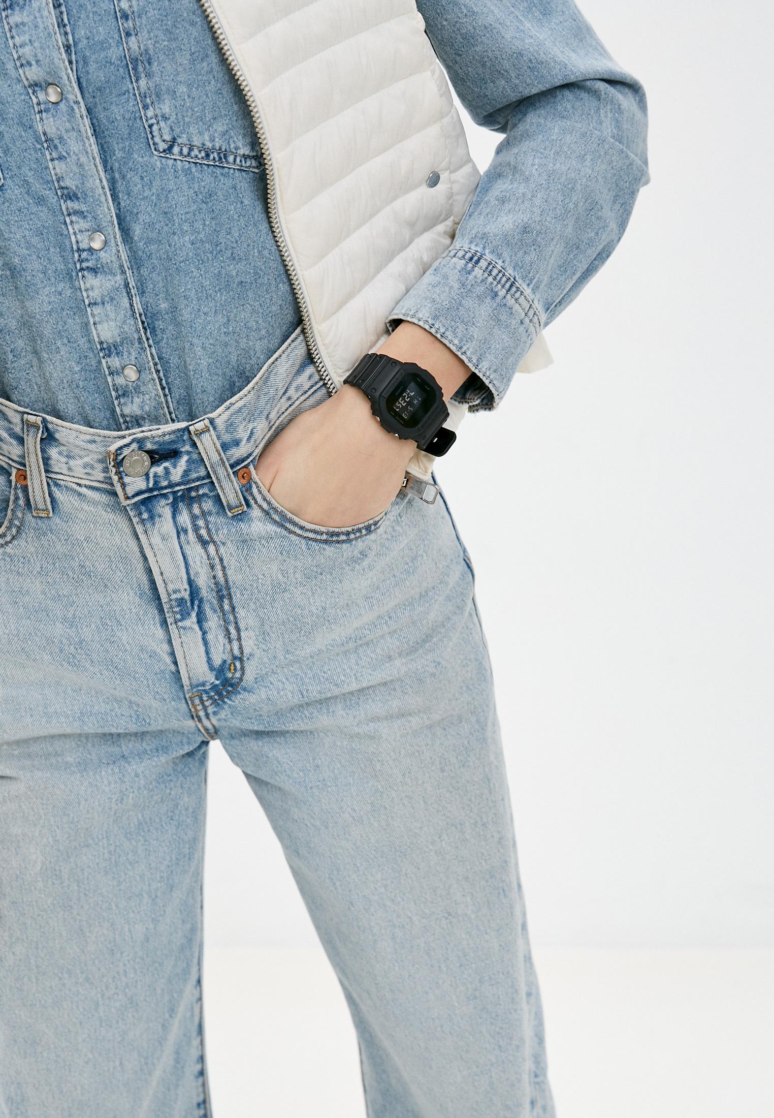 Мужские часы Casio DW-5600BB-1E: изображение 5