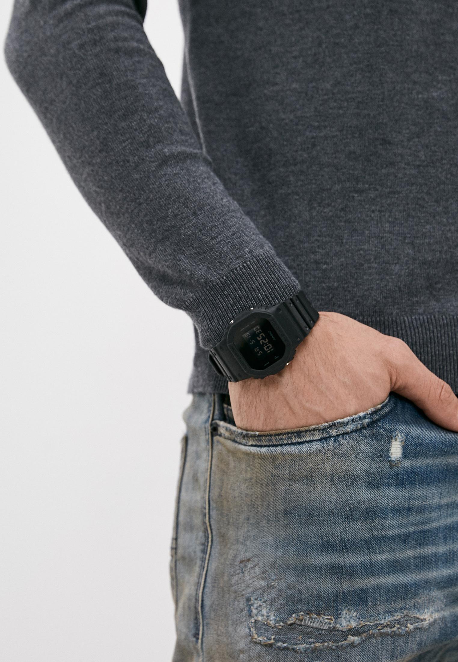 Мужские часы Casio DW-5600BB-1E: изображение 6