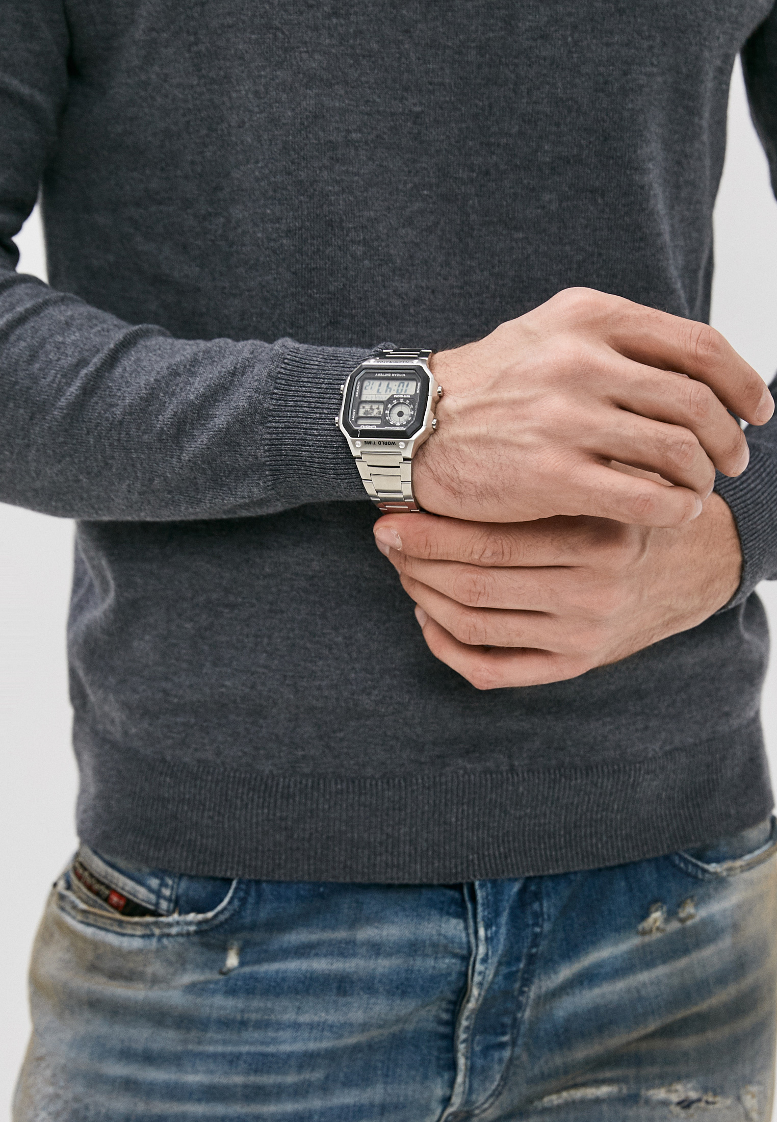 Мужские часы Casio AE-1200WHD-1A: изображение 5