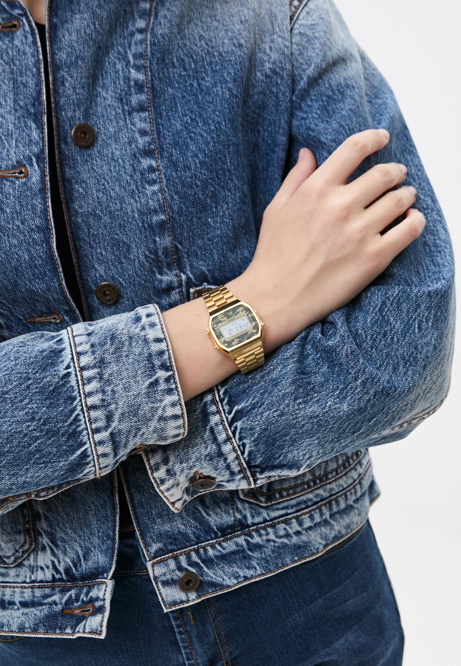 Мужские часы Casio A-168WEGC-3E: изображение 4