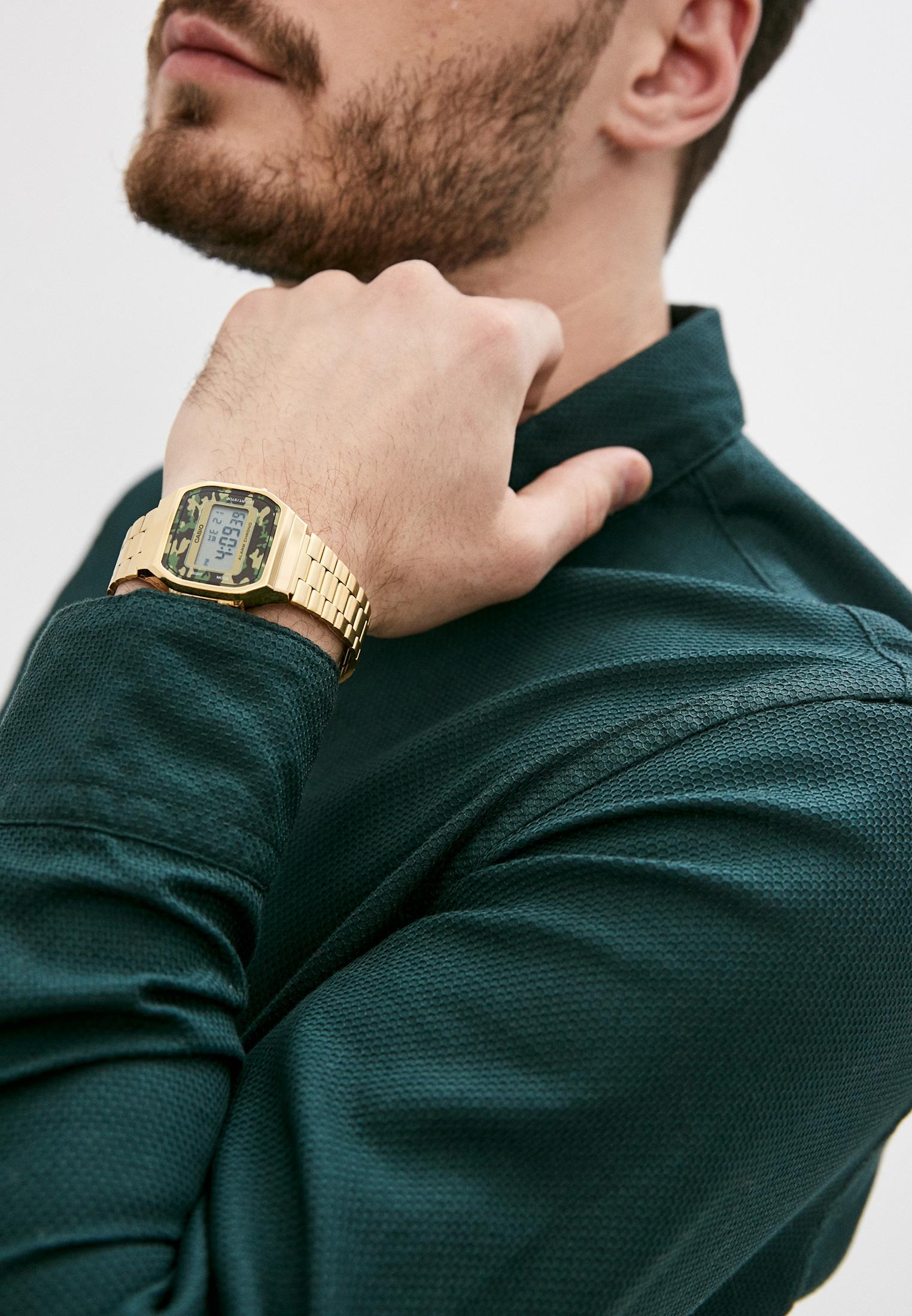 Мужские часы Casio A-168WEGC-3E: изображение 5