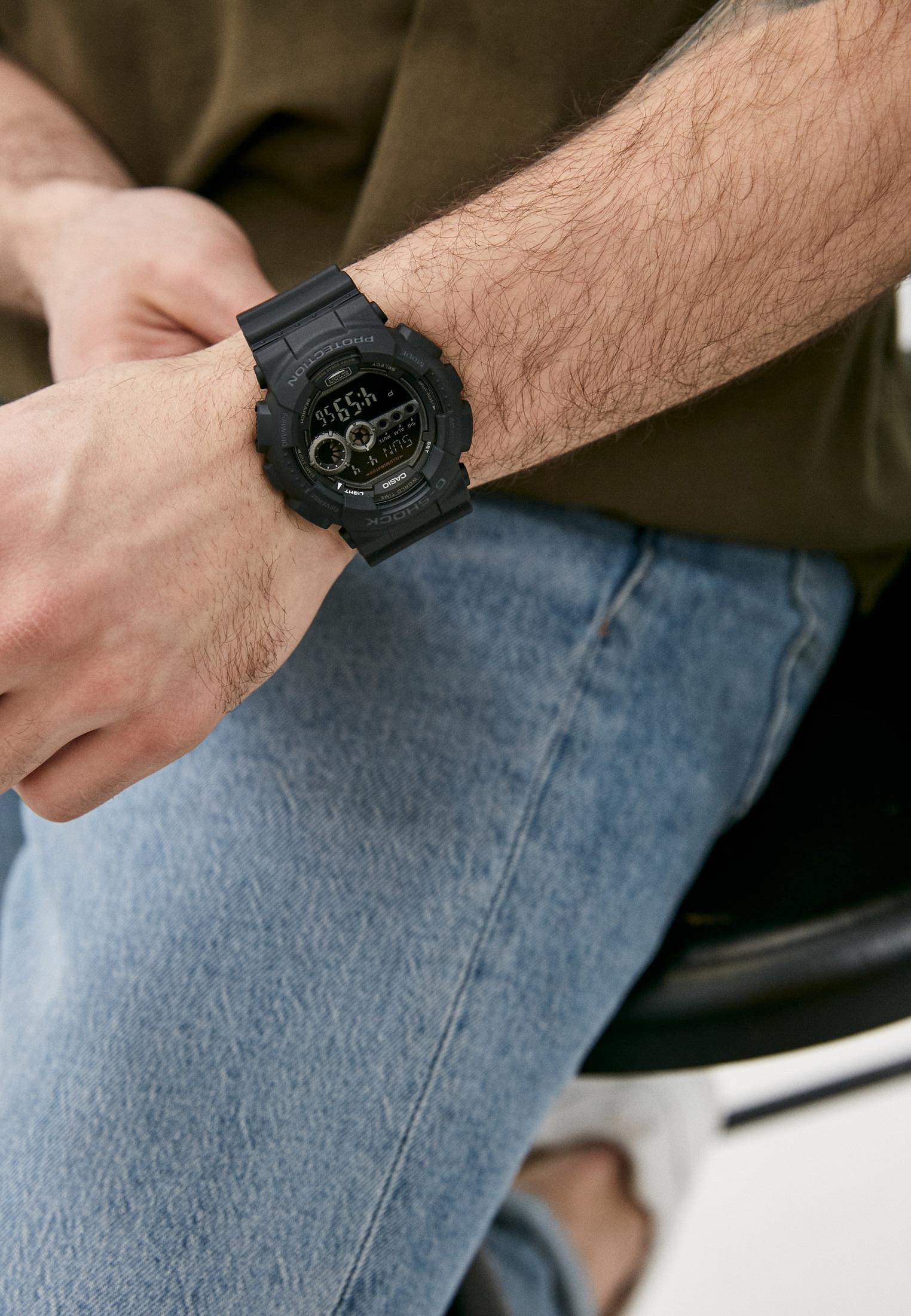 Мужские часы Casio GD-100-1B: изображение 6