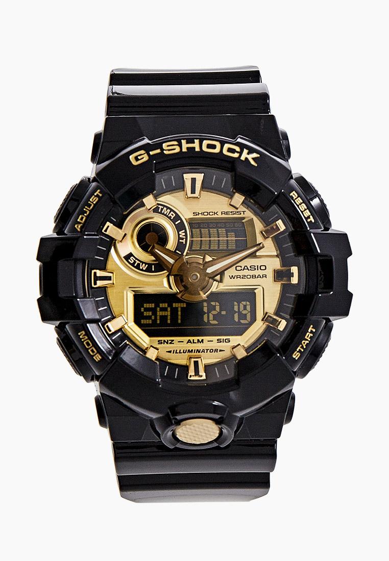 Мужские часы Casio GA-710GB-1A: изображение 1