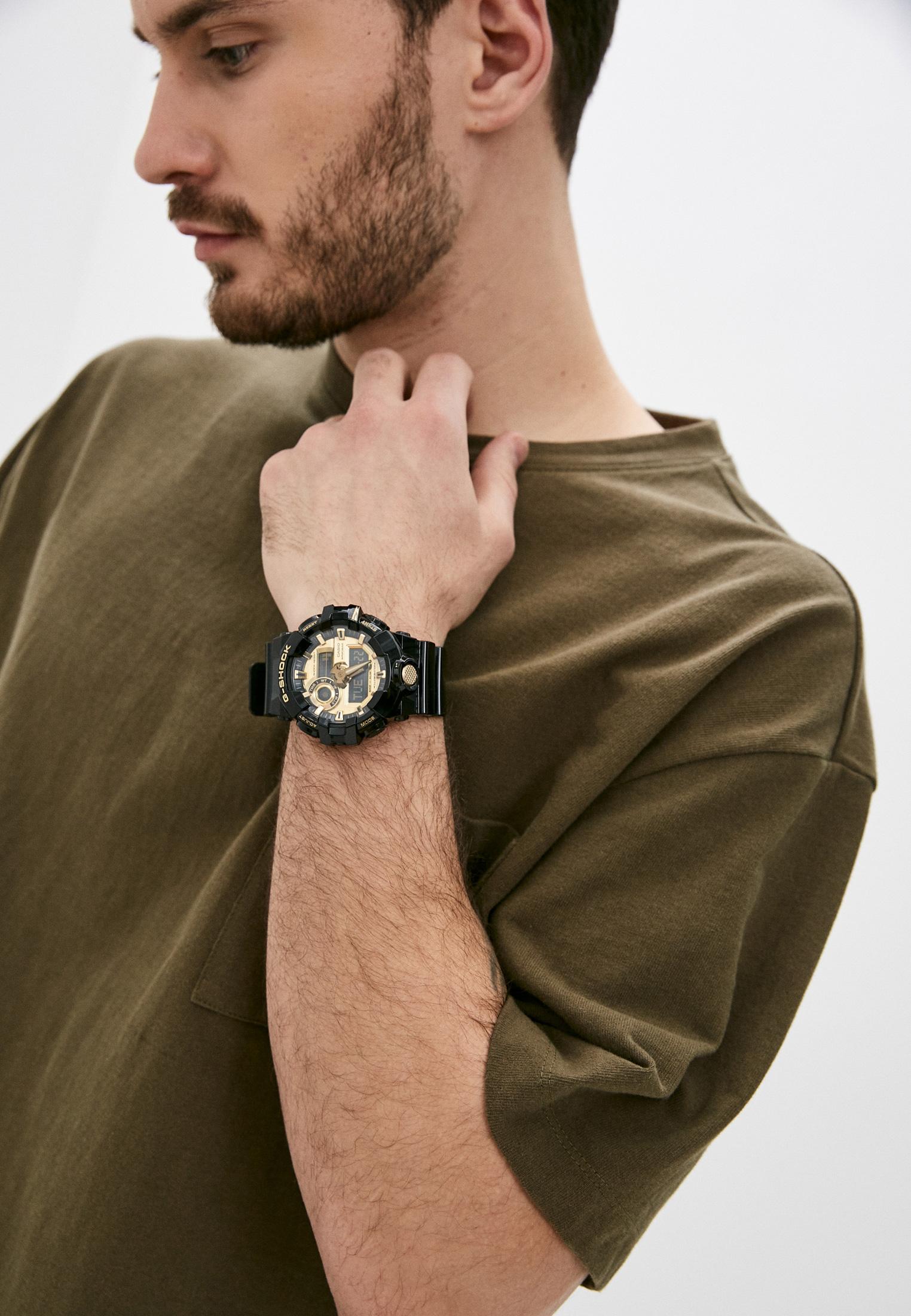 Мужские часы Casio GA-710GB-1A: изображение 6