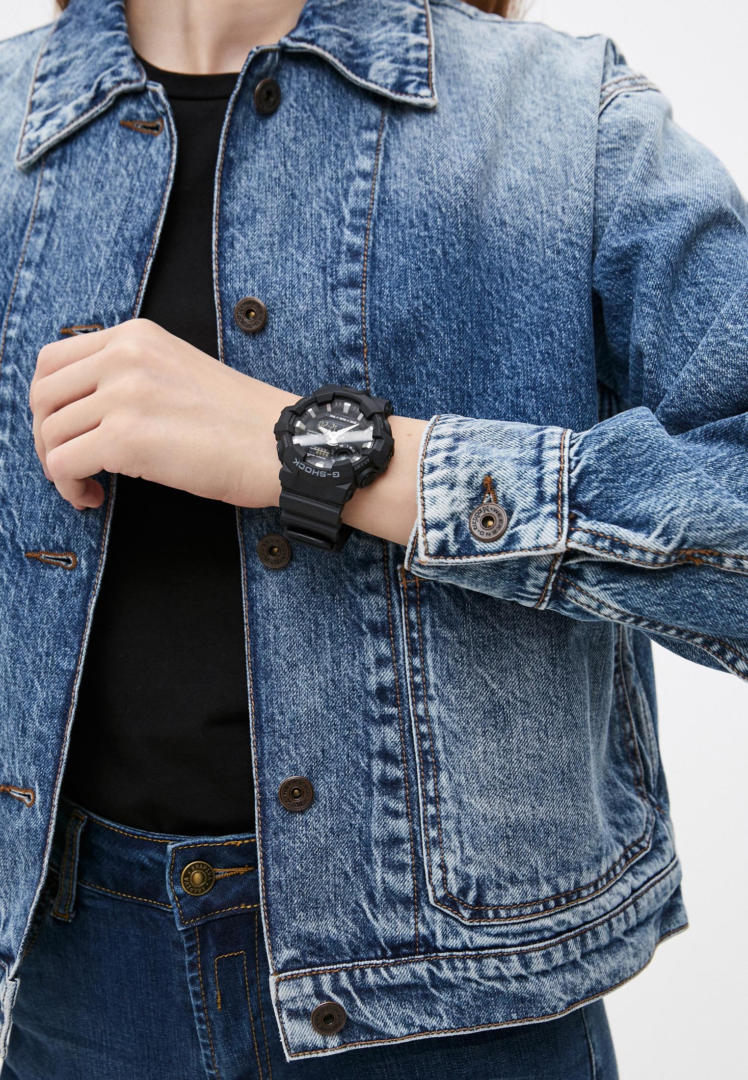 Мужские часы Casio GA-700-1B: изображение 5