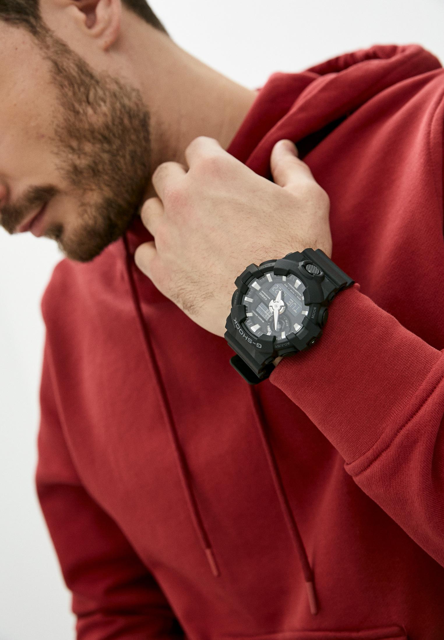 Мужские часы Casio GA-700-1B: изображение 6