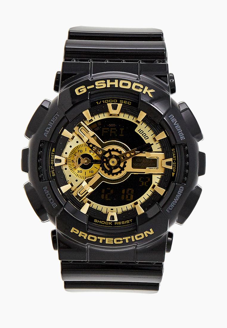 Мужские часы Casio GA-110GB-1A: изображение 1