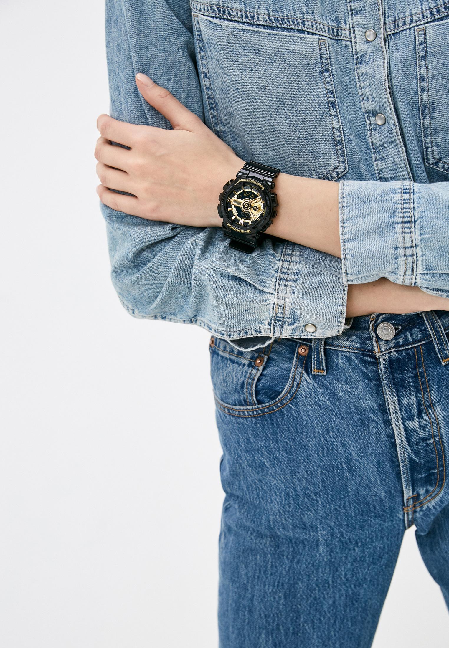 Мужские часы Casio GA-110GB-1A: изображение 5