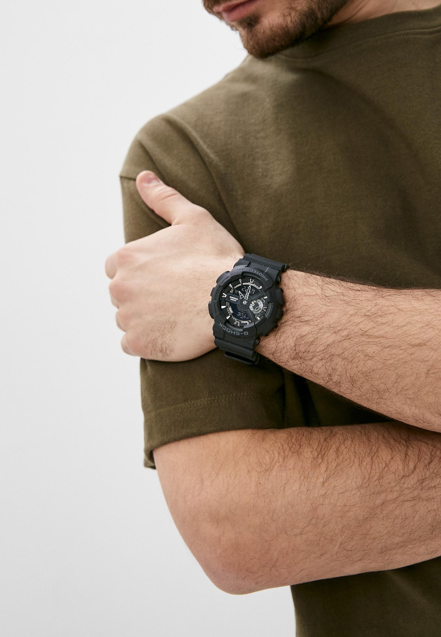 Мужские часы Casio GA-110-1B: изображение 6