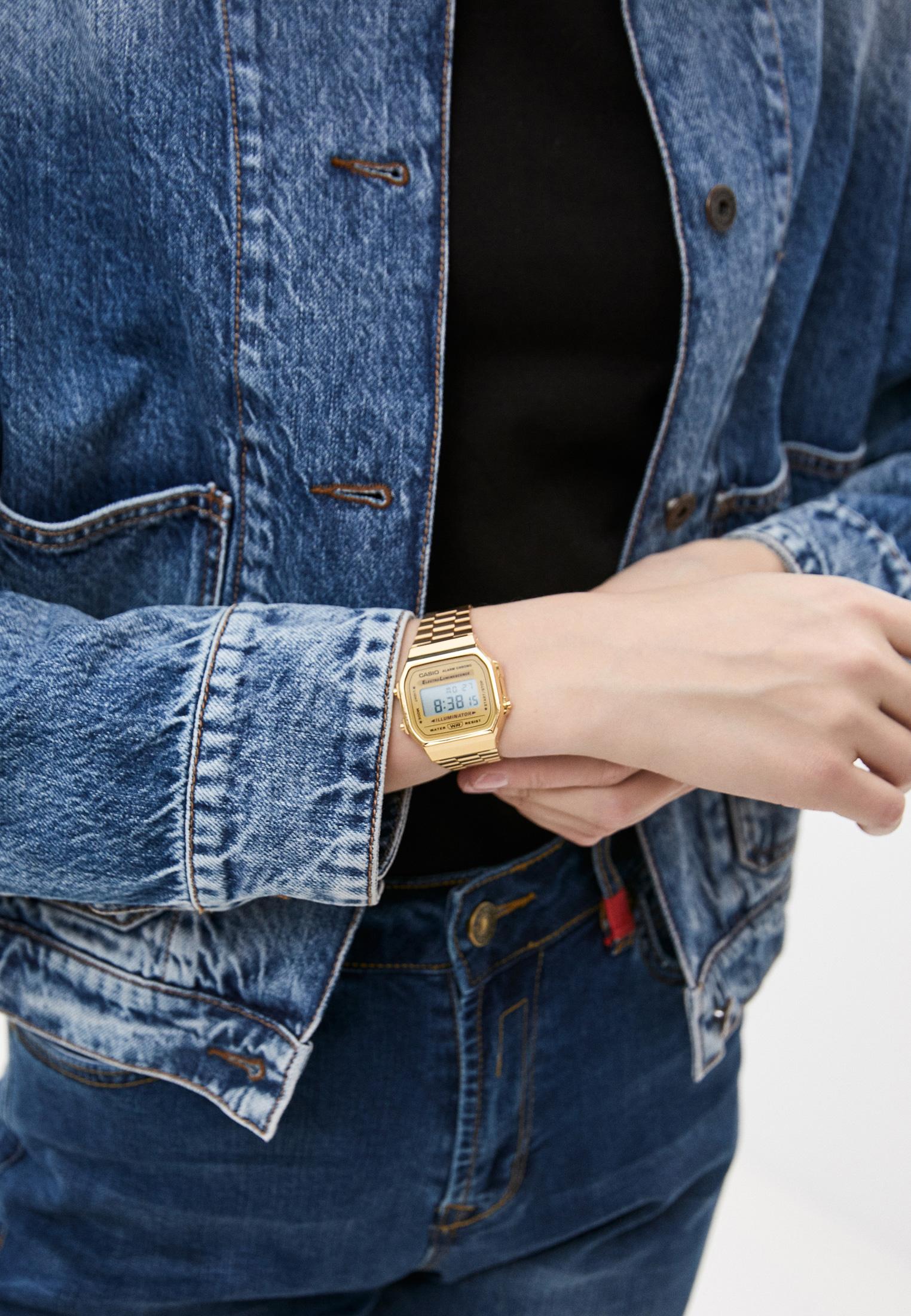 Мужские часы Casio A-168WG-9: изображение 4