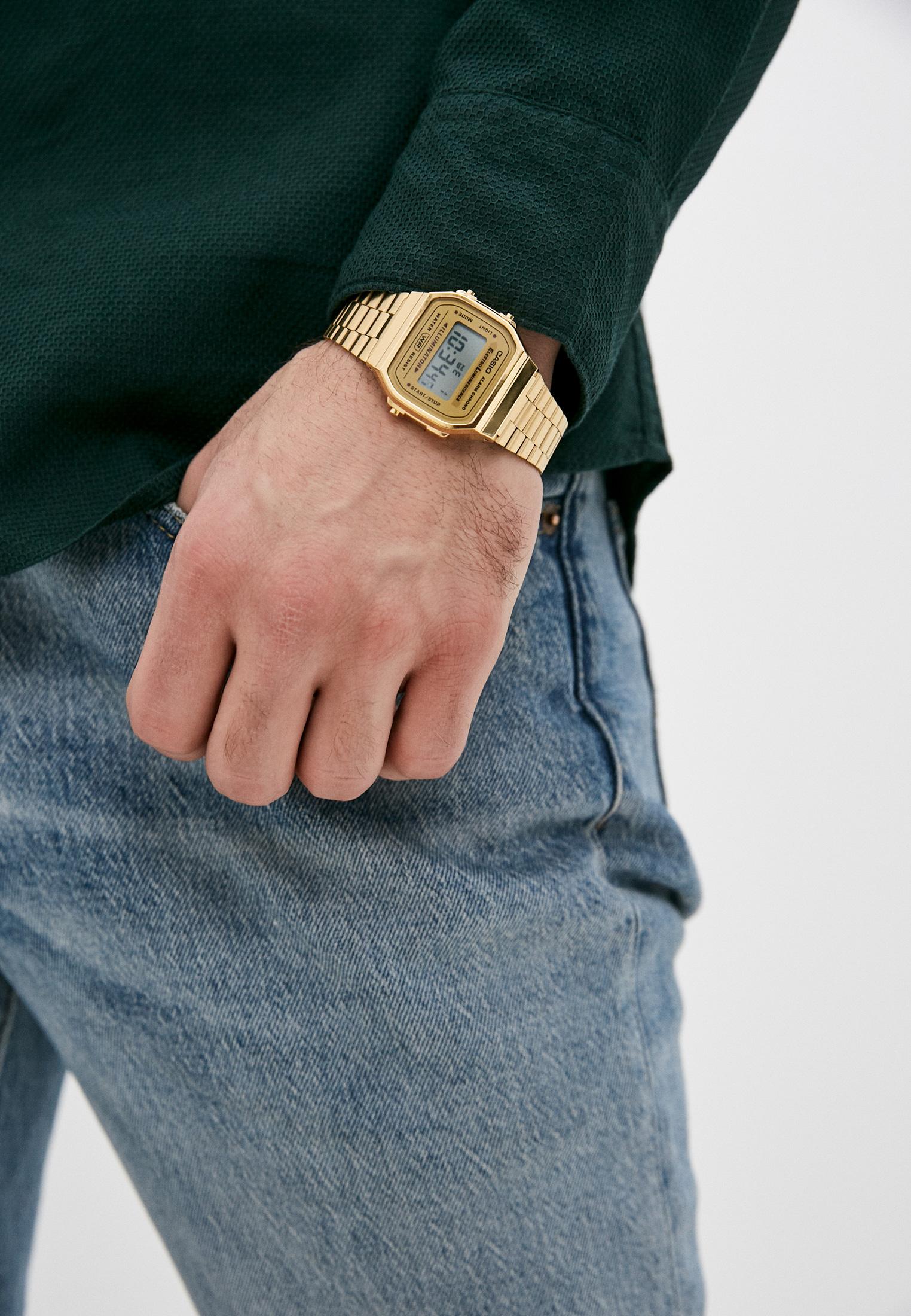 Мужские часы Casio A-168WG-9: изображение 5