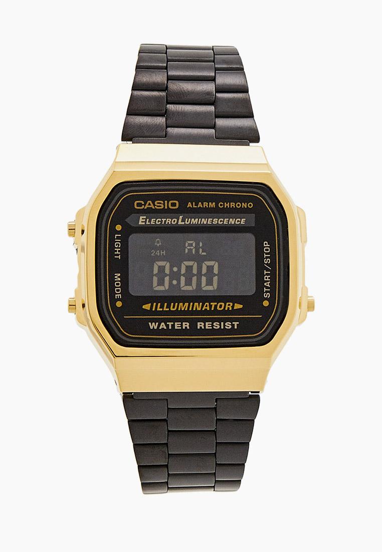 Мужские часы Casio A-168WEGB-1B: изображение 1