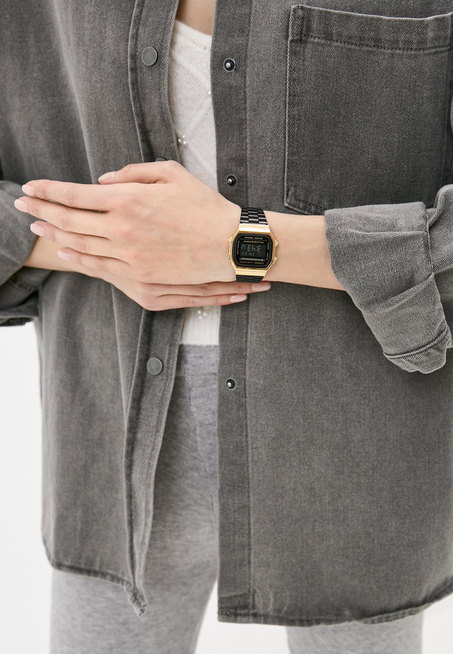 Мужские часы Casio A-168WEGB-1B: изображение 4
