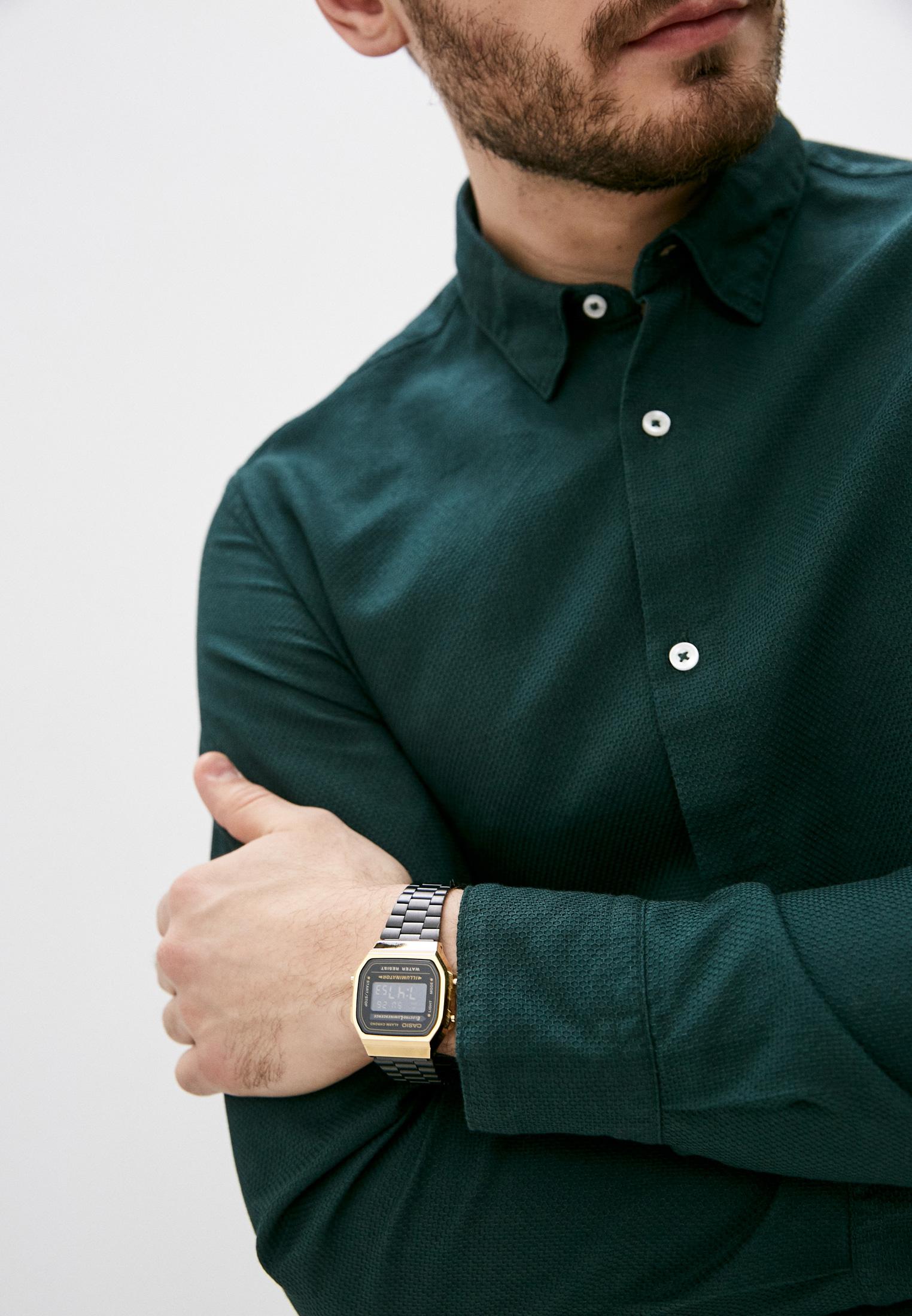 Мужские часы Casio A-168WEGB-1B: изображение 5