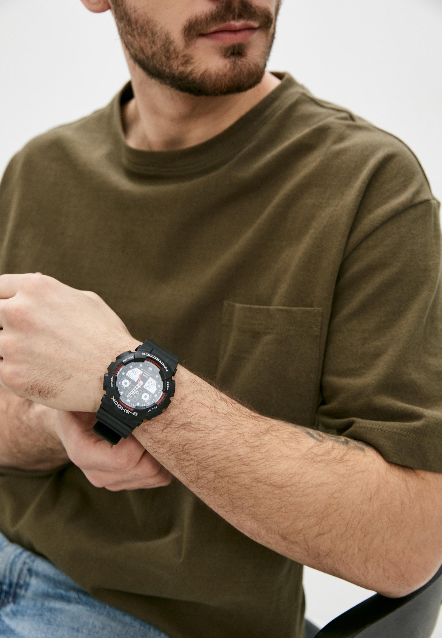 Мужские часы Casio GA-100-1A4: изображение 6