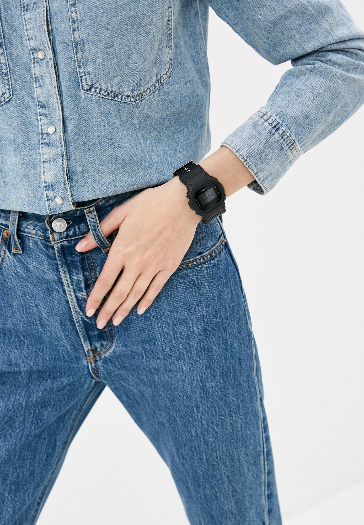 Мужские часы Casio DW-5600BBN-1E: изображение 4
