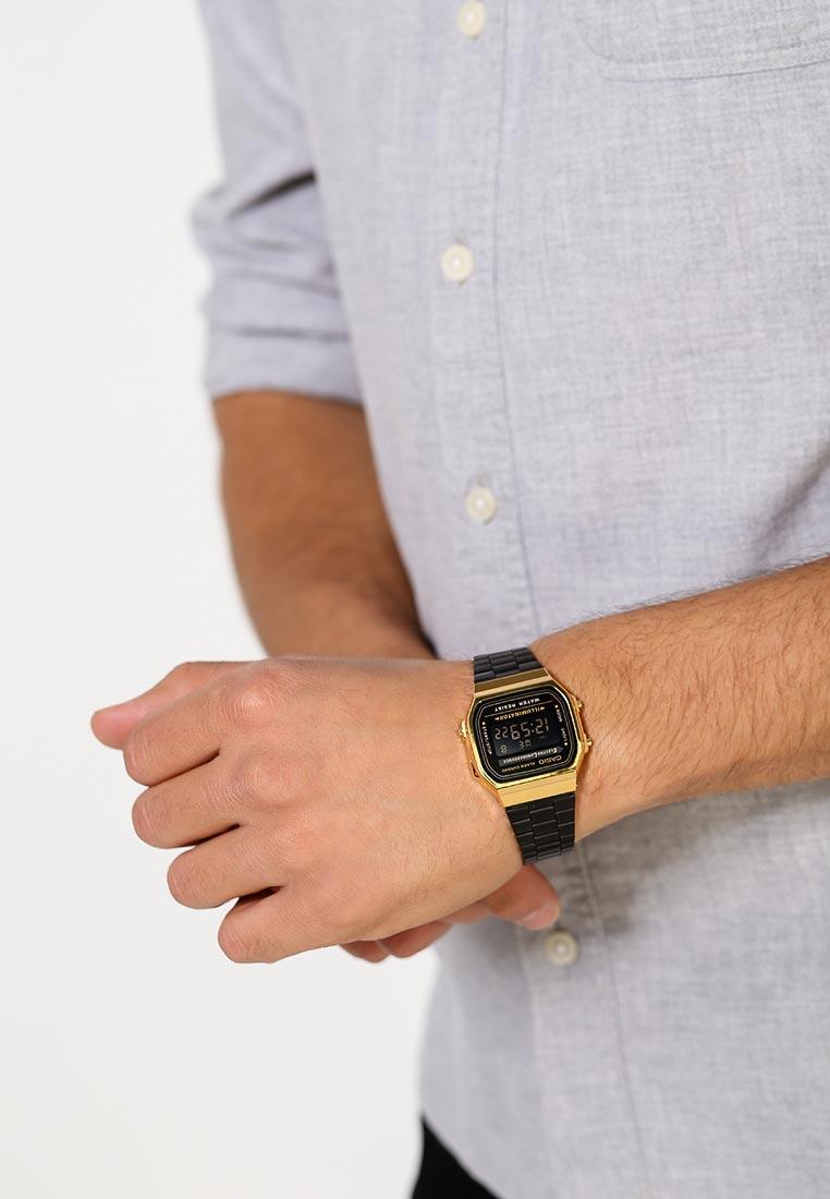 Мужские часы Casio A-168WEGB-1B: изображение 8