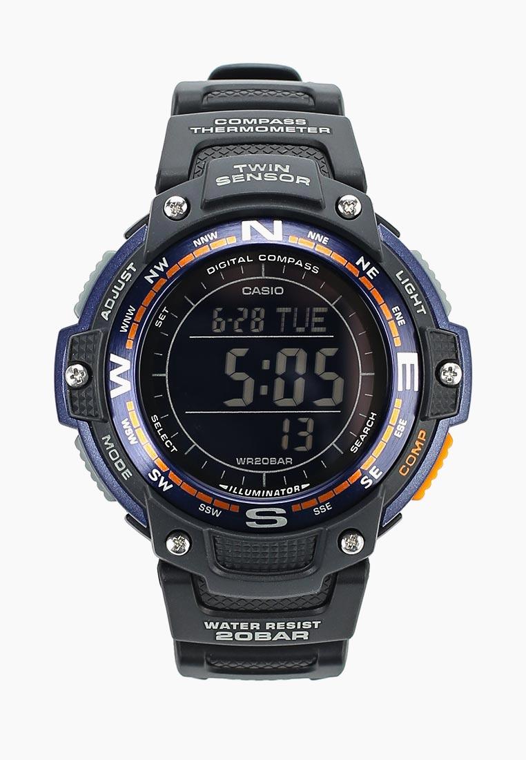 Мужские часы Casio SGW-100-2B: изображение 3