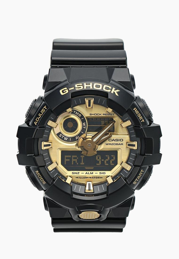 Мужские часы Casio GA-710GB-1A: изображение 9